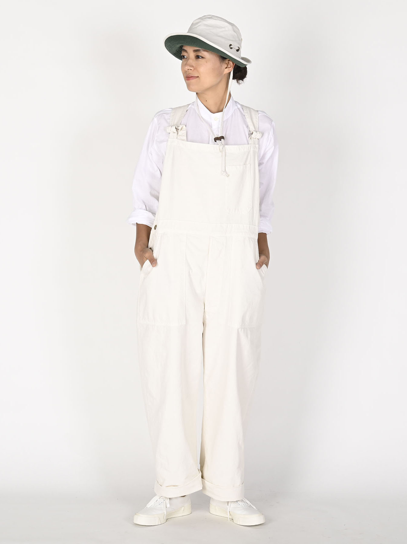 Yacht White 908 Smock-all-2