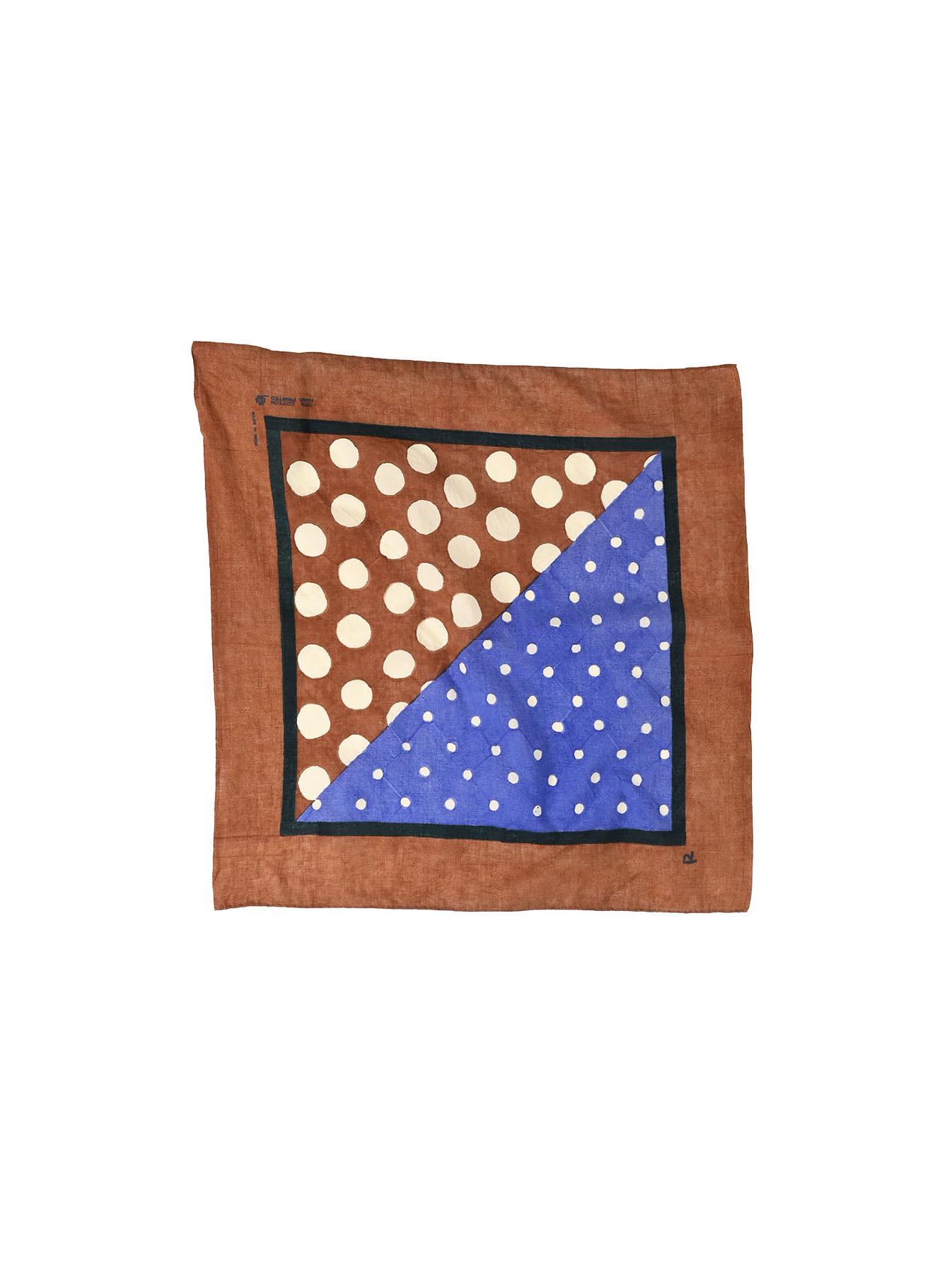 Block Printed Khadi Bandana(2 patterns)-9