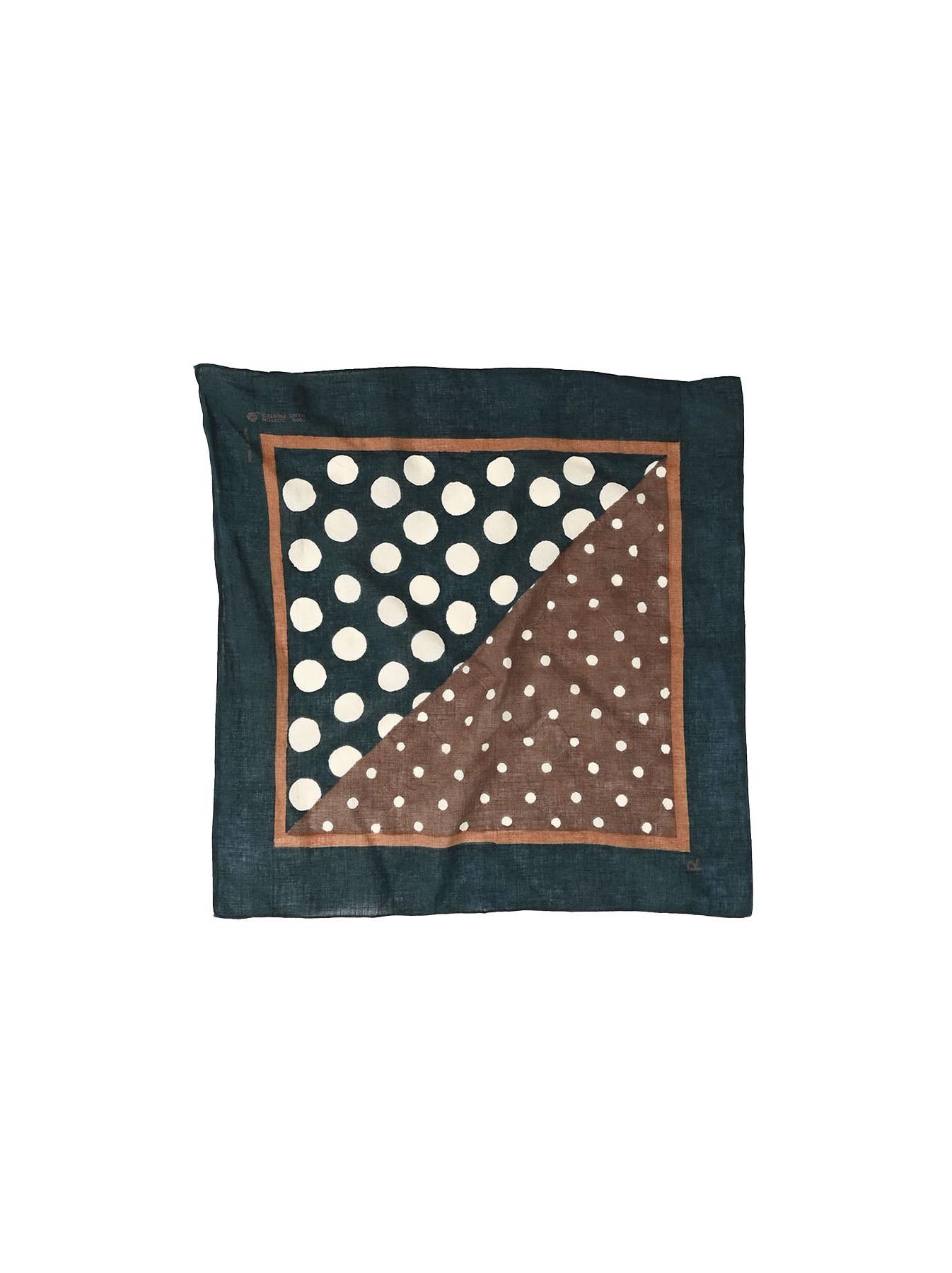 Block Printed Khadi Bandana(2 patterns)-7