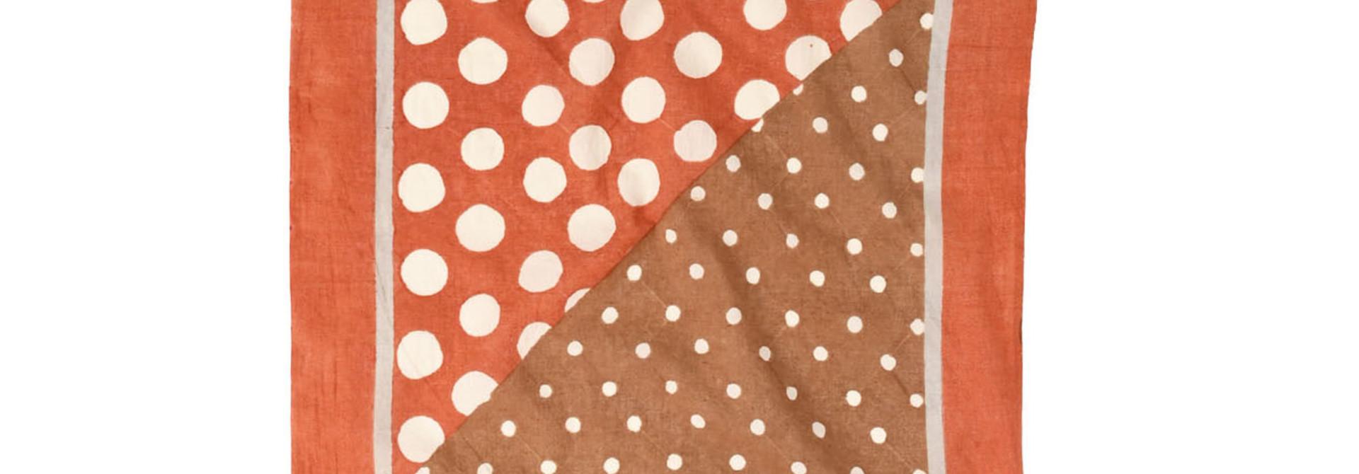 Block Printed Khadi Bandana(2 patterns)