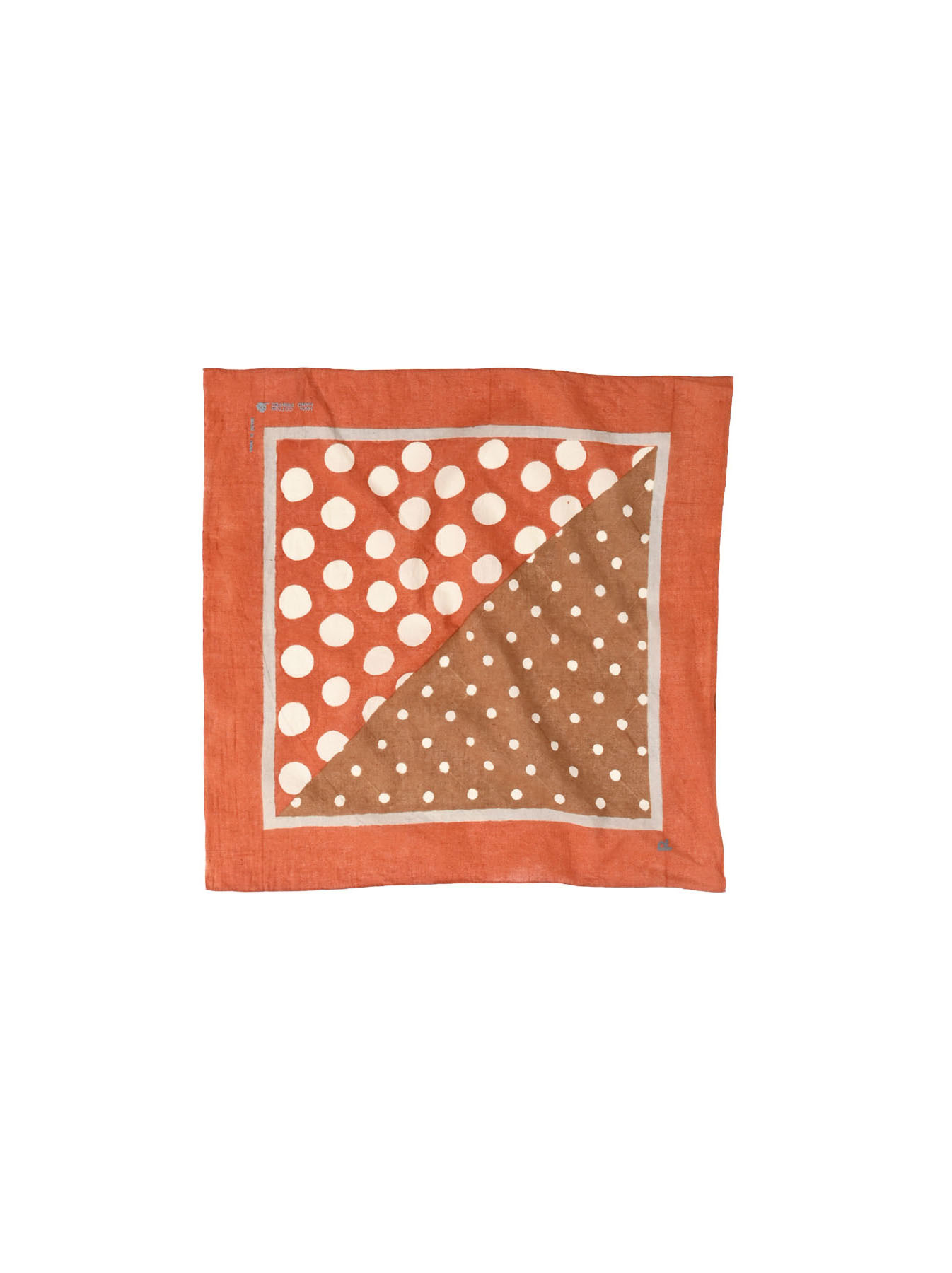 Block Printed Khadi Bandana(2 patterns)-1