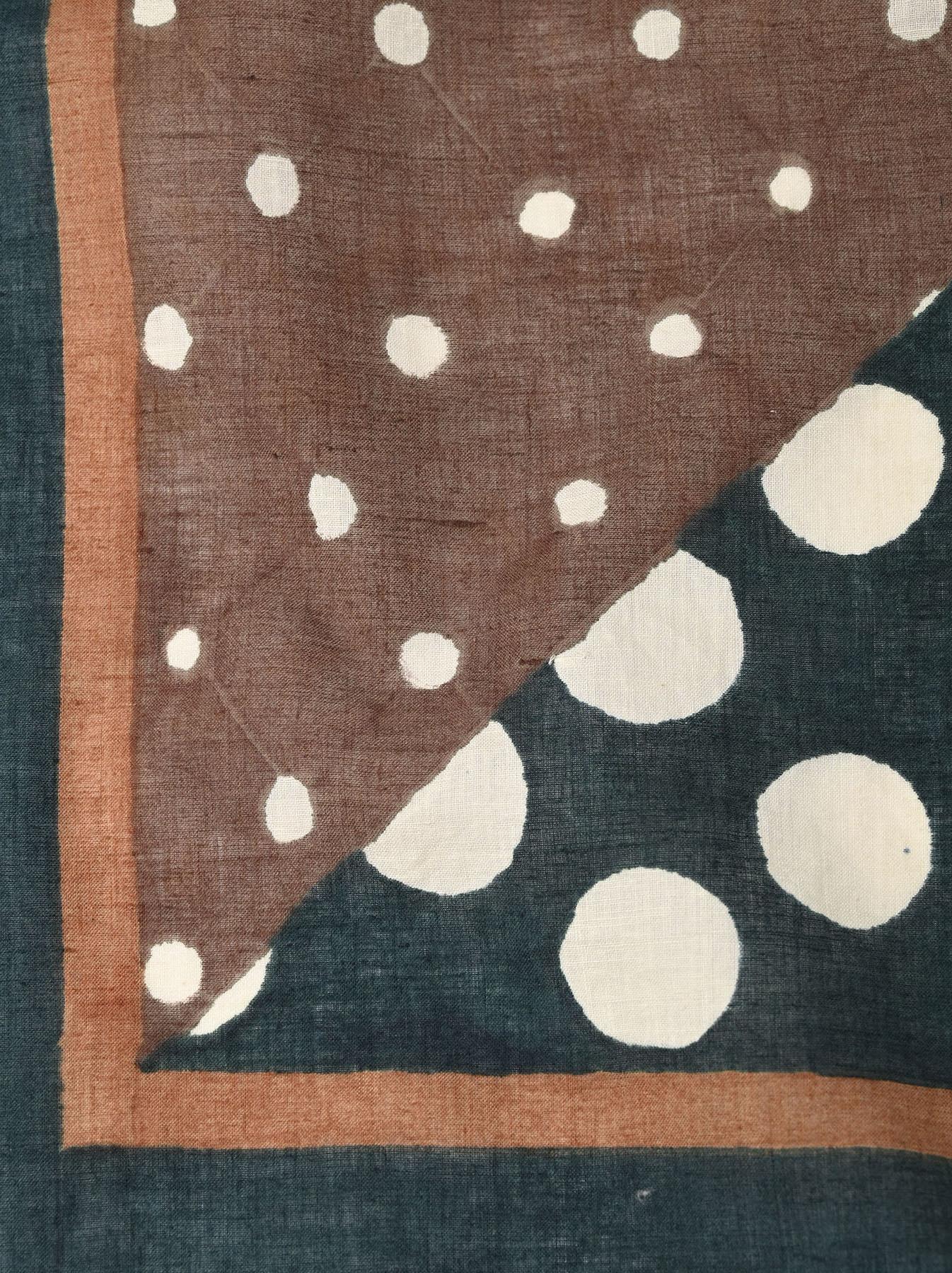 Block Printed Khadi Bandana(2 patterns)-4