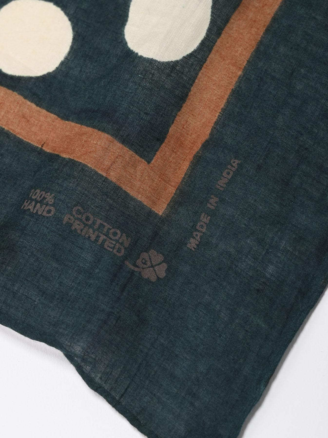 Block Printed Khadi Bandana(2 patterns)-5