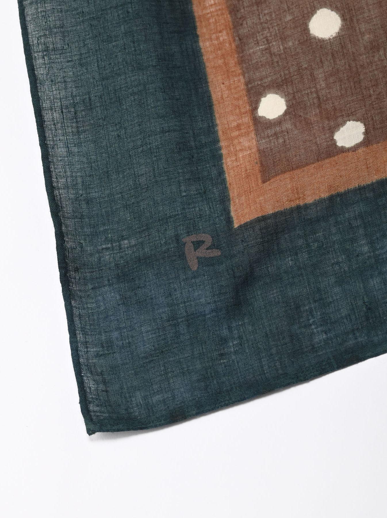 Block Printed Khadi Bandana(2 patterns)-3
