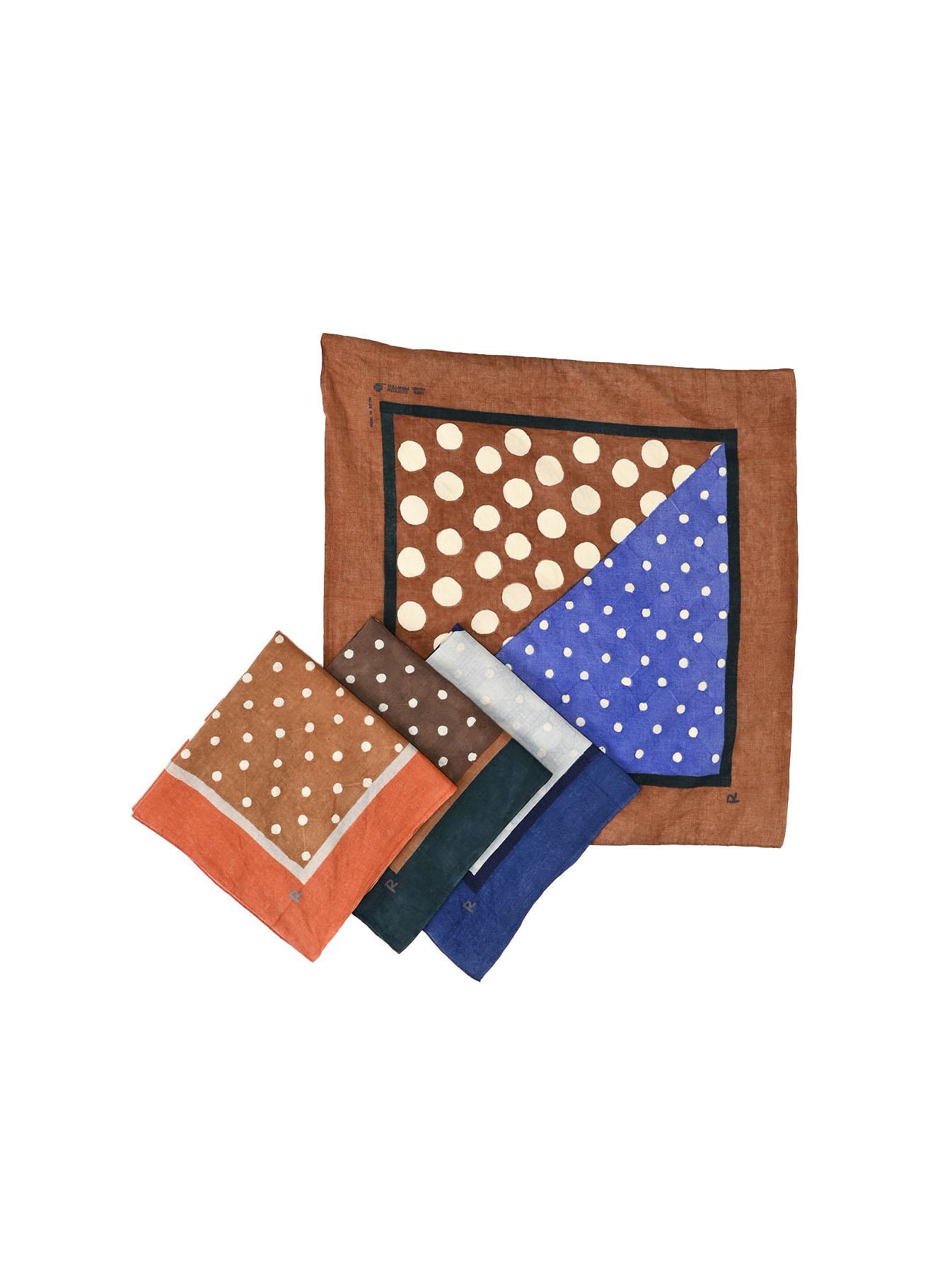 Block Printed Khadi Bandana(2 patterns)-2