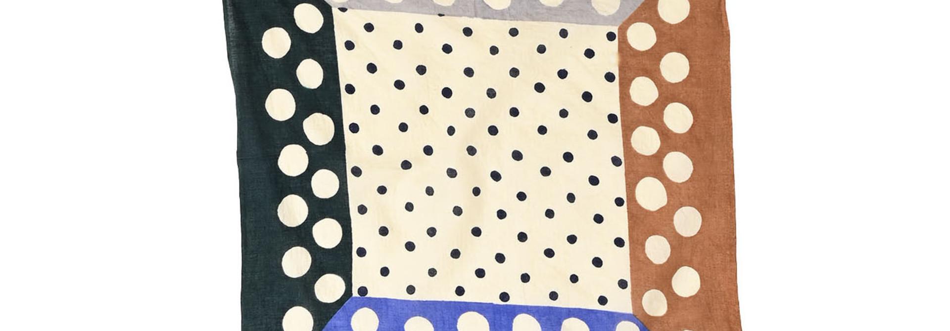 Block Printed Khadi Bandana