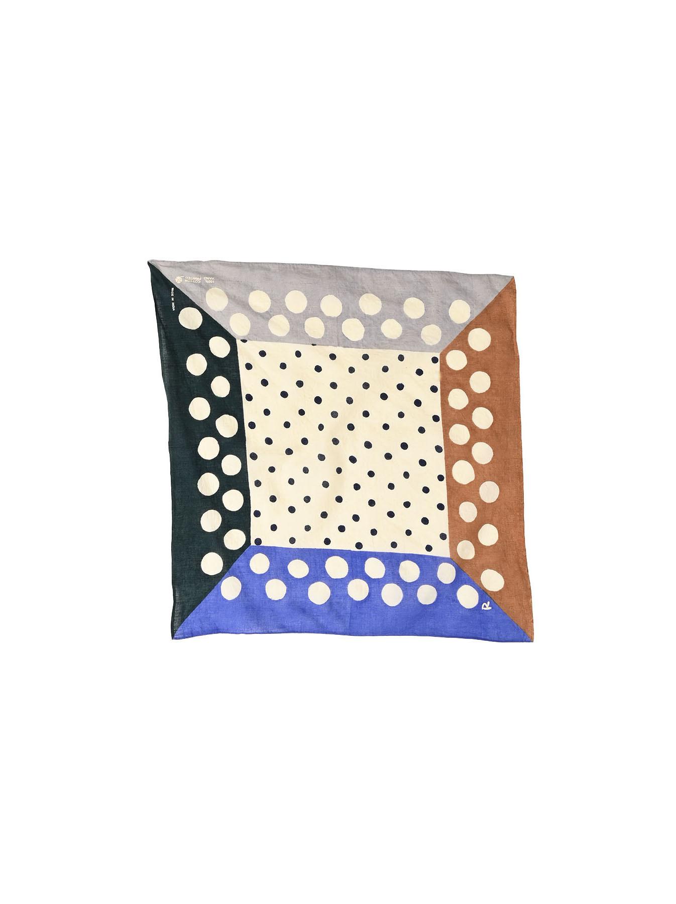 Block Printed Khadi Bandana-1