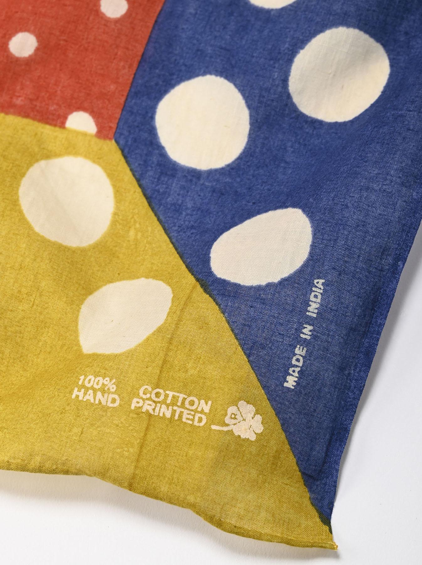 Block Printed Khadi Bandana-3