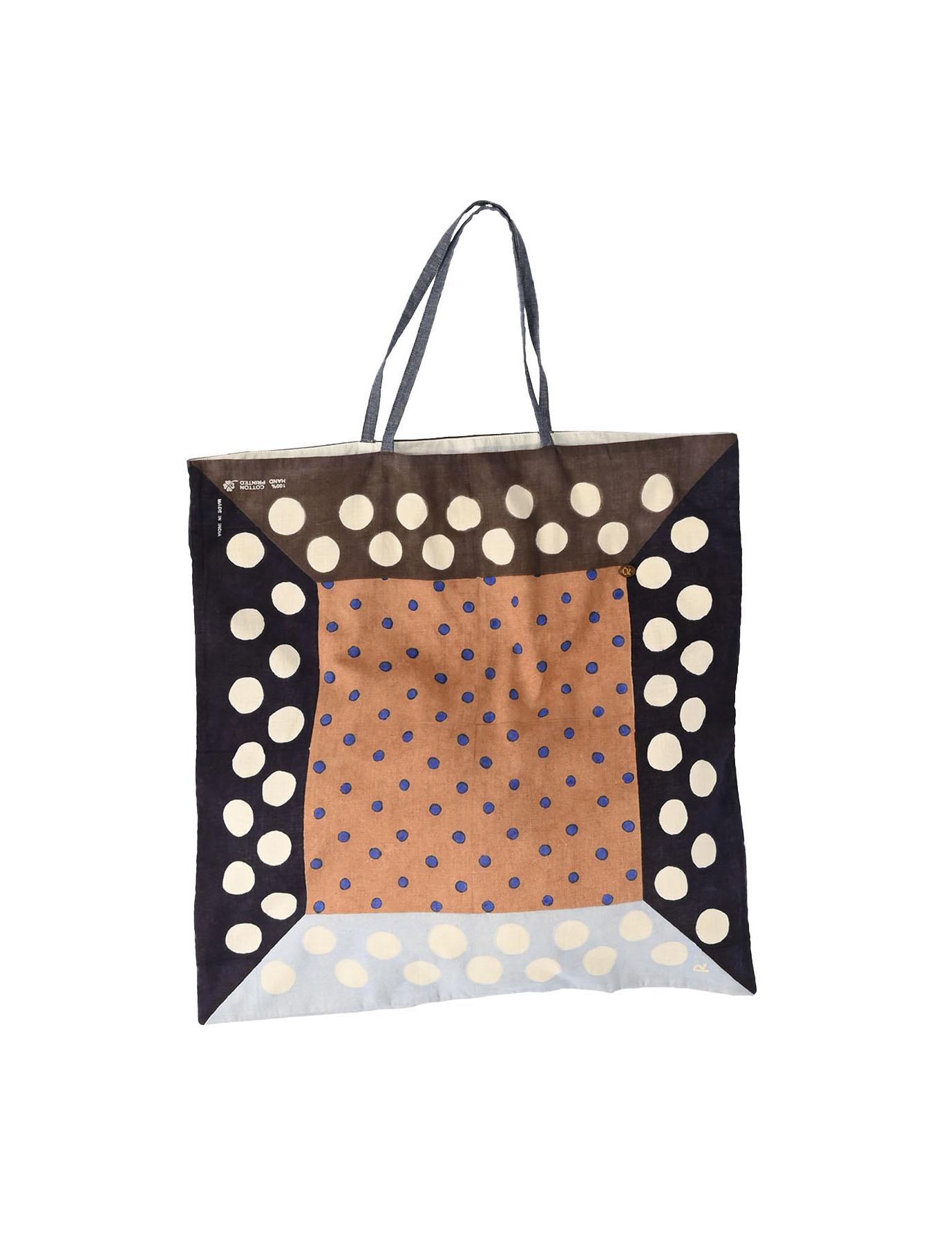 Khadi Dots Bandana Bag-12