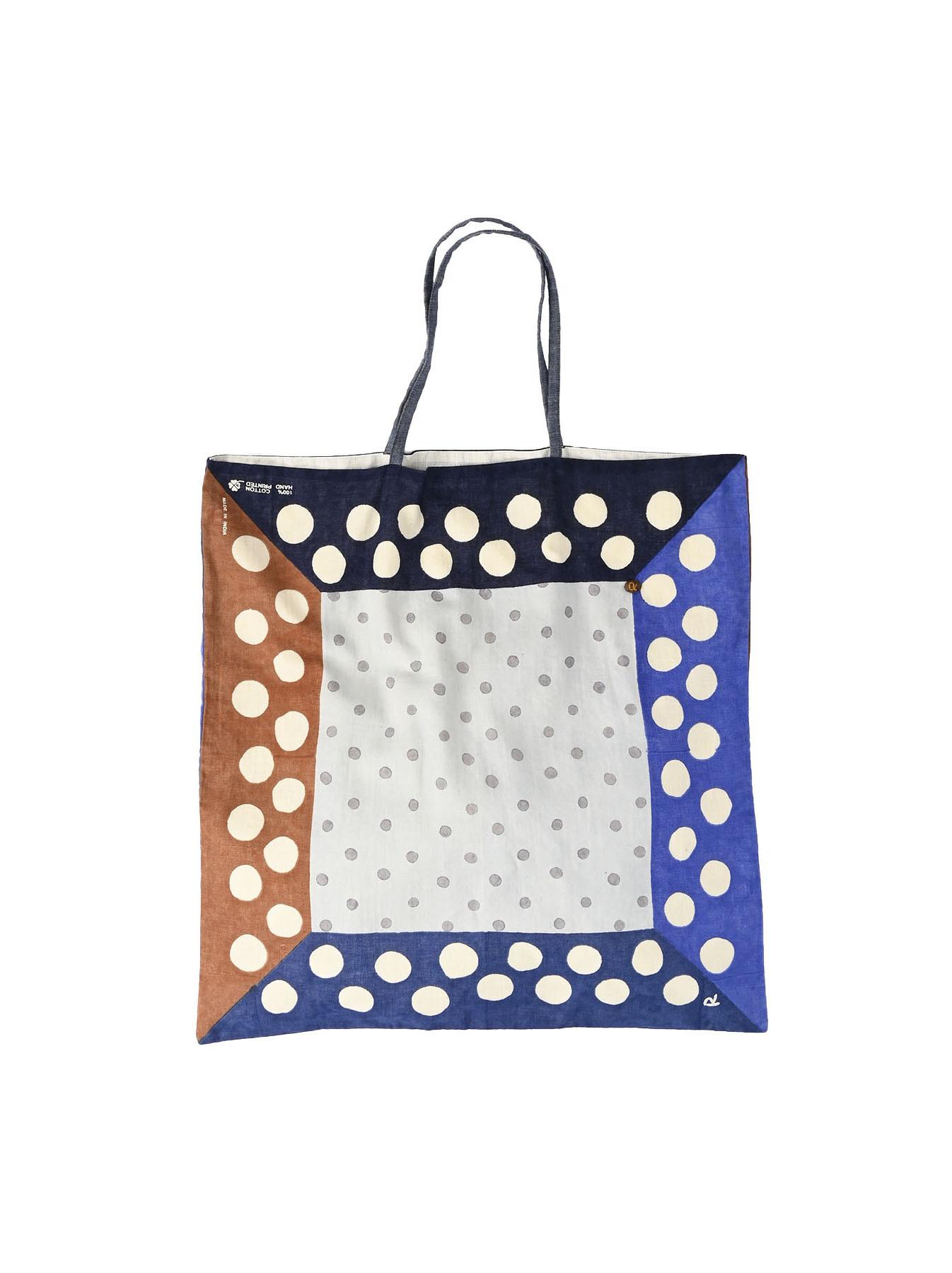 Khadi Dots Bandana Bag-11