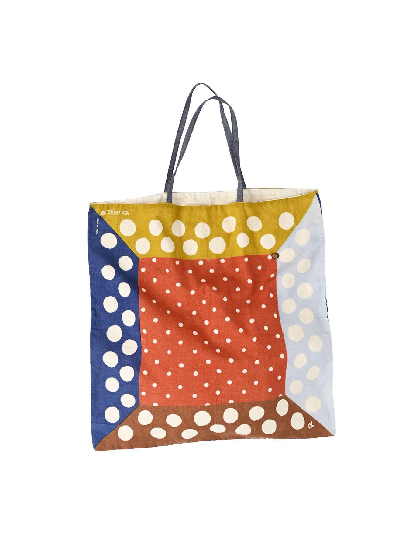 Khadi Dots Bandana Bag-10