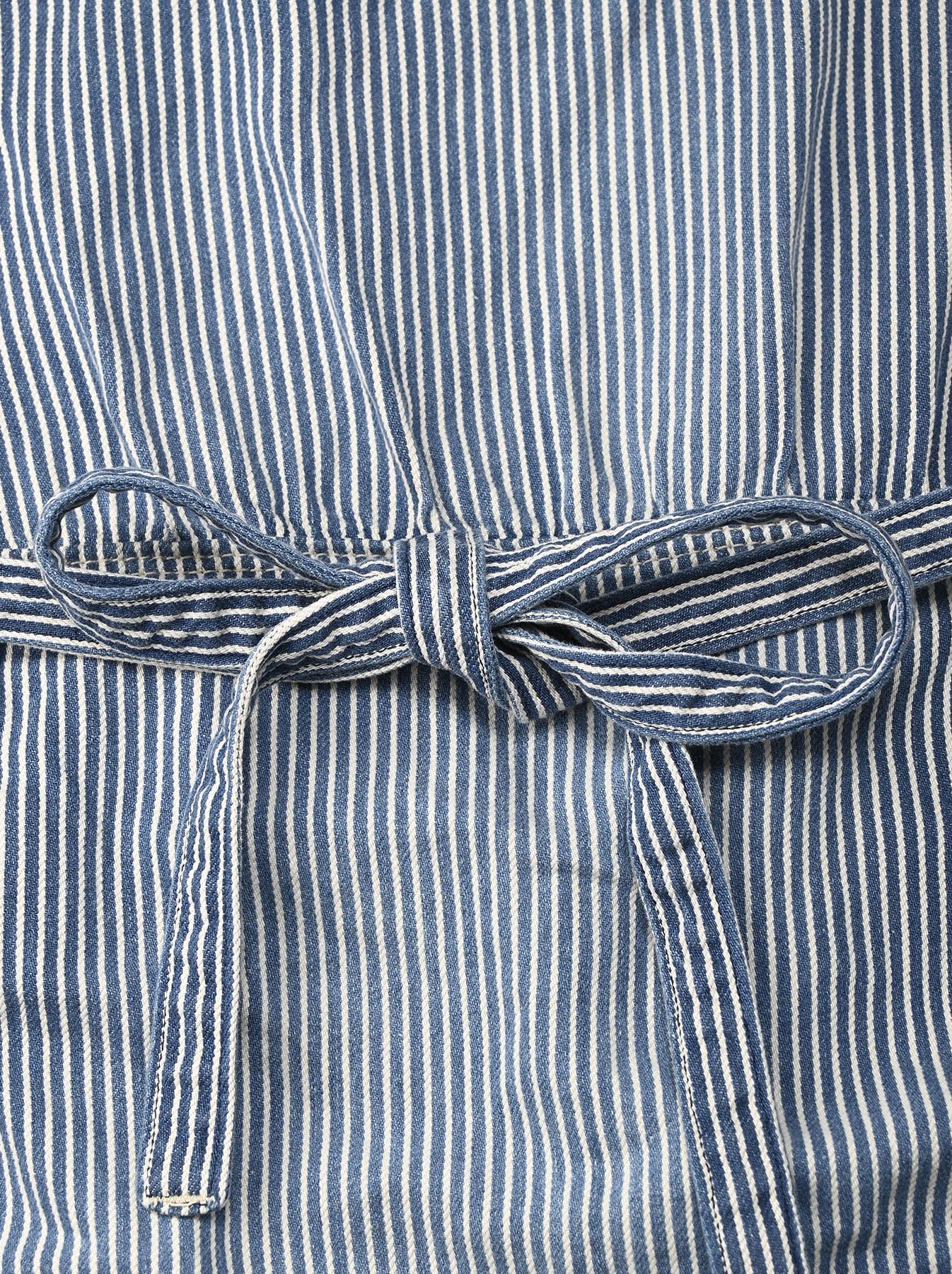 Komugi Denim Aprion Dress-8