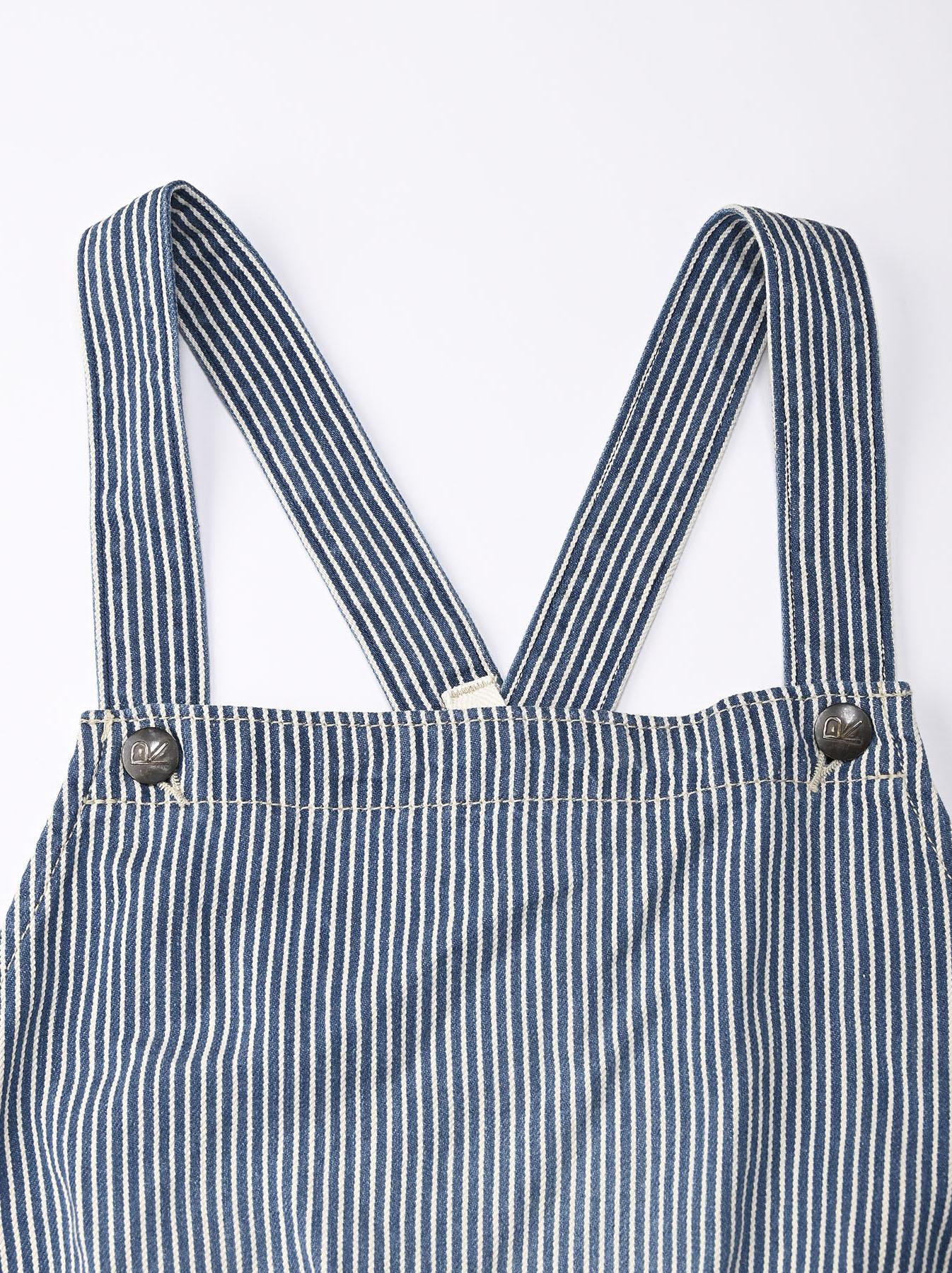 Komugi Denim Aprion Dress-6