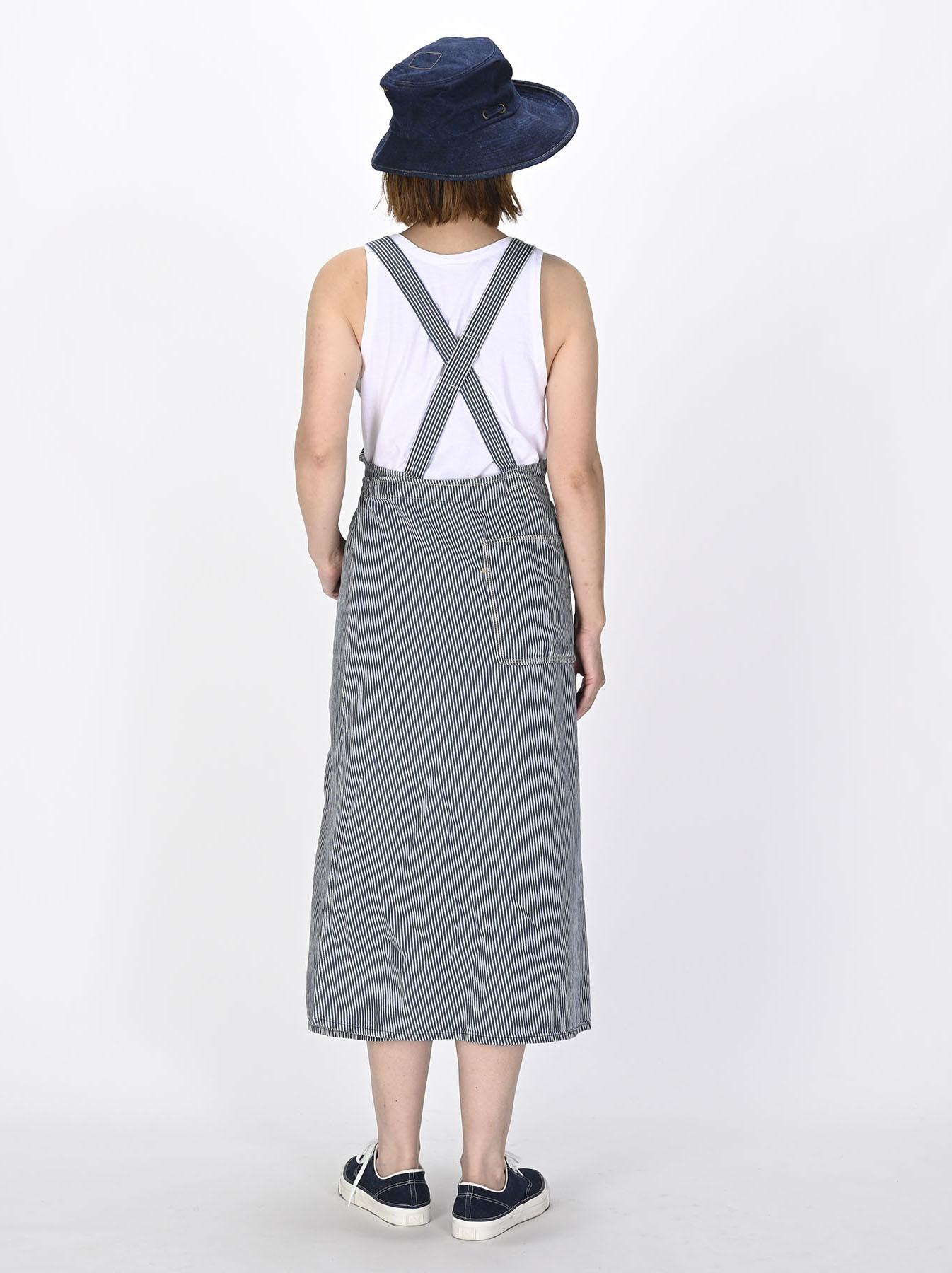 Komugi Denim Aprion Dress-4