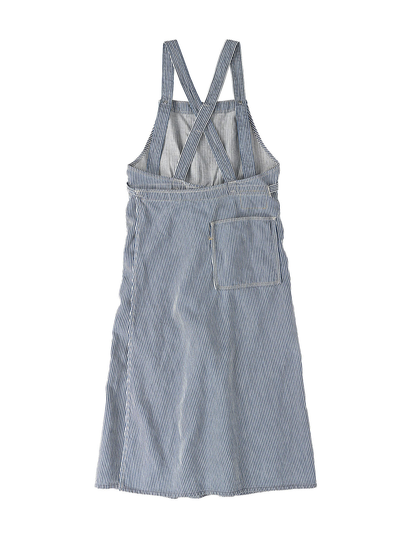 Komugi Denim Aprion Dress-5