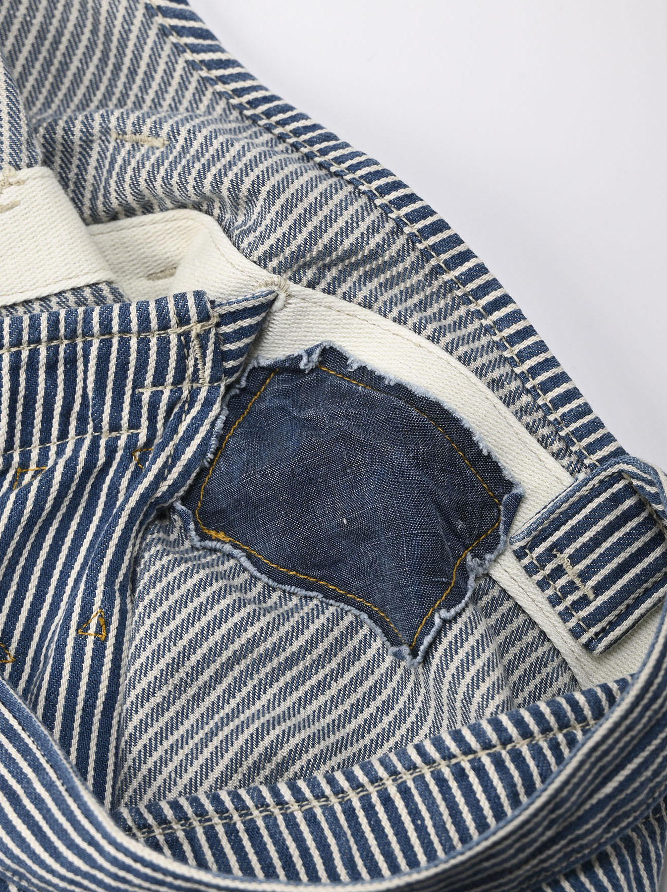 Komugi Denim Aprion Dress-11