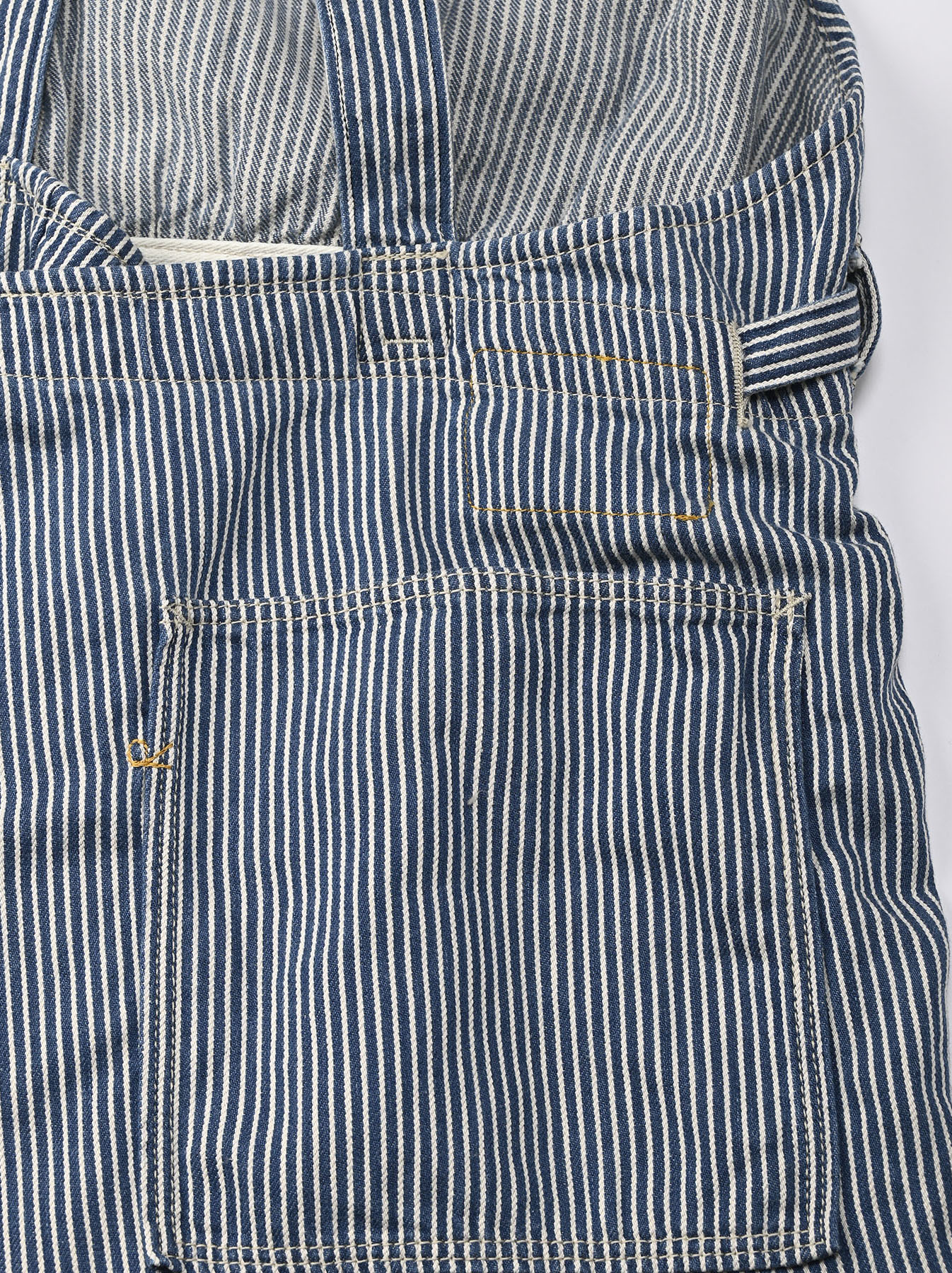 Komugi Denim Aprion Dress-9
