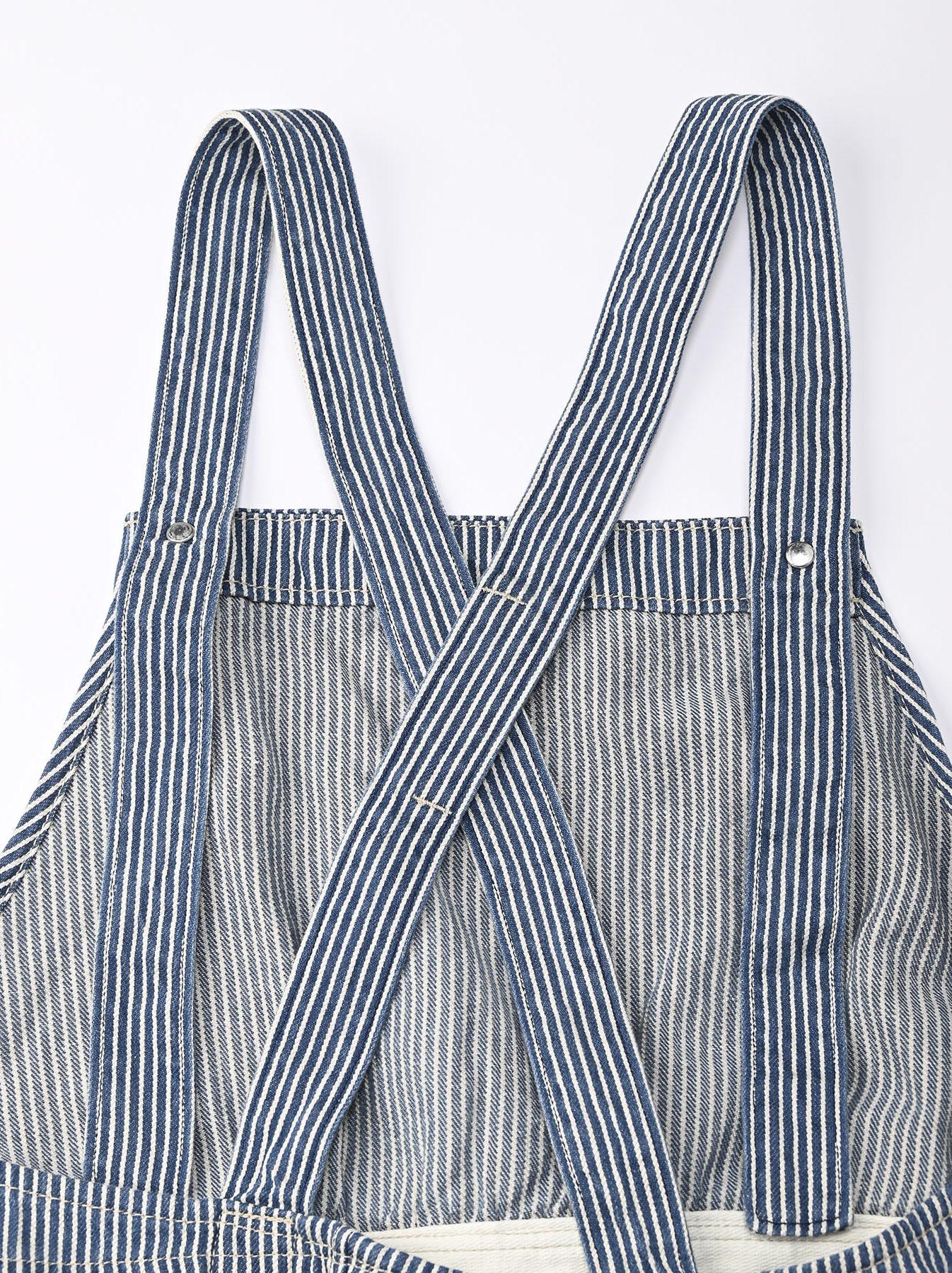 Komugi Denim Aprion Dress-12
