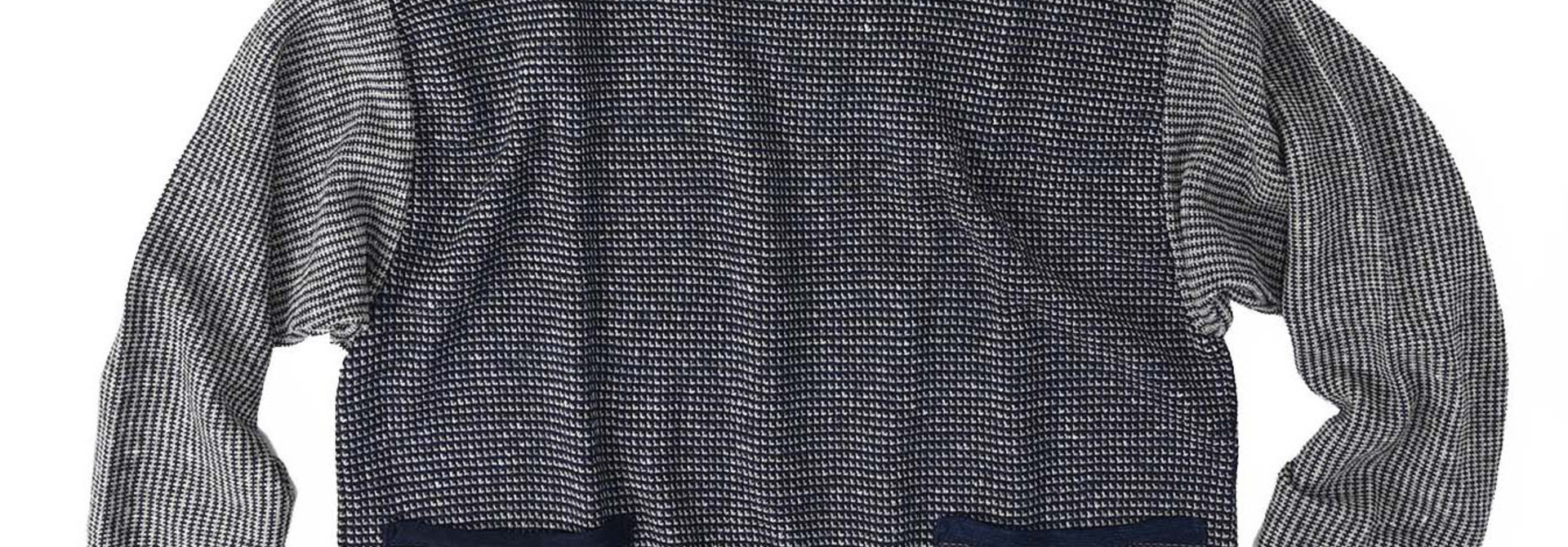 Indigo Tappet Kanoko Umahiko Sweater