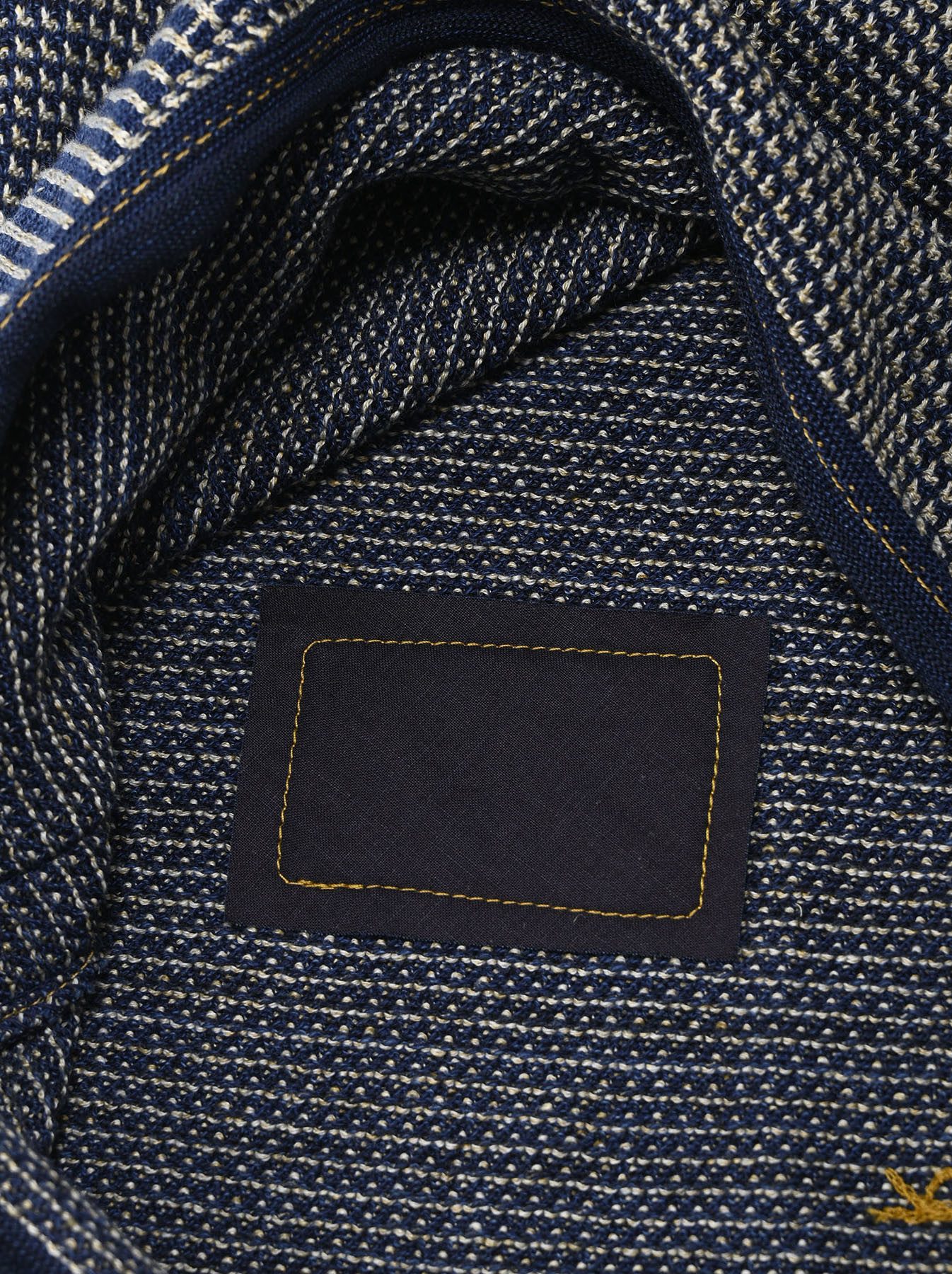 Indigo Tappet Kanoko Umahiko Sweater-12