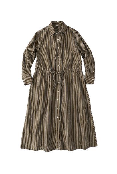 Dump Autumn-coloured Shirt Dress