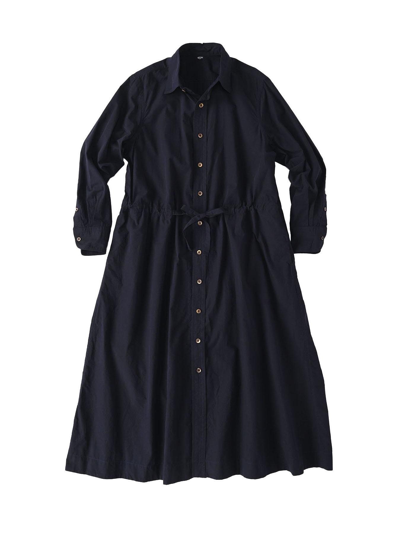 Dump Autumn-coloured Shirt Dress-12