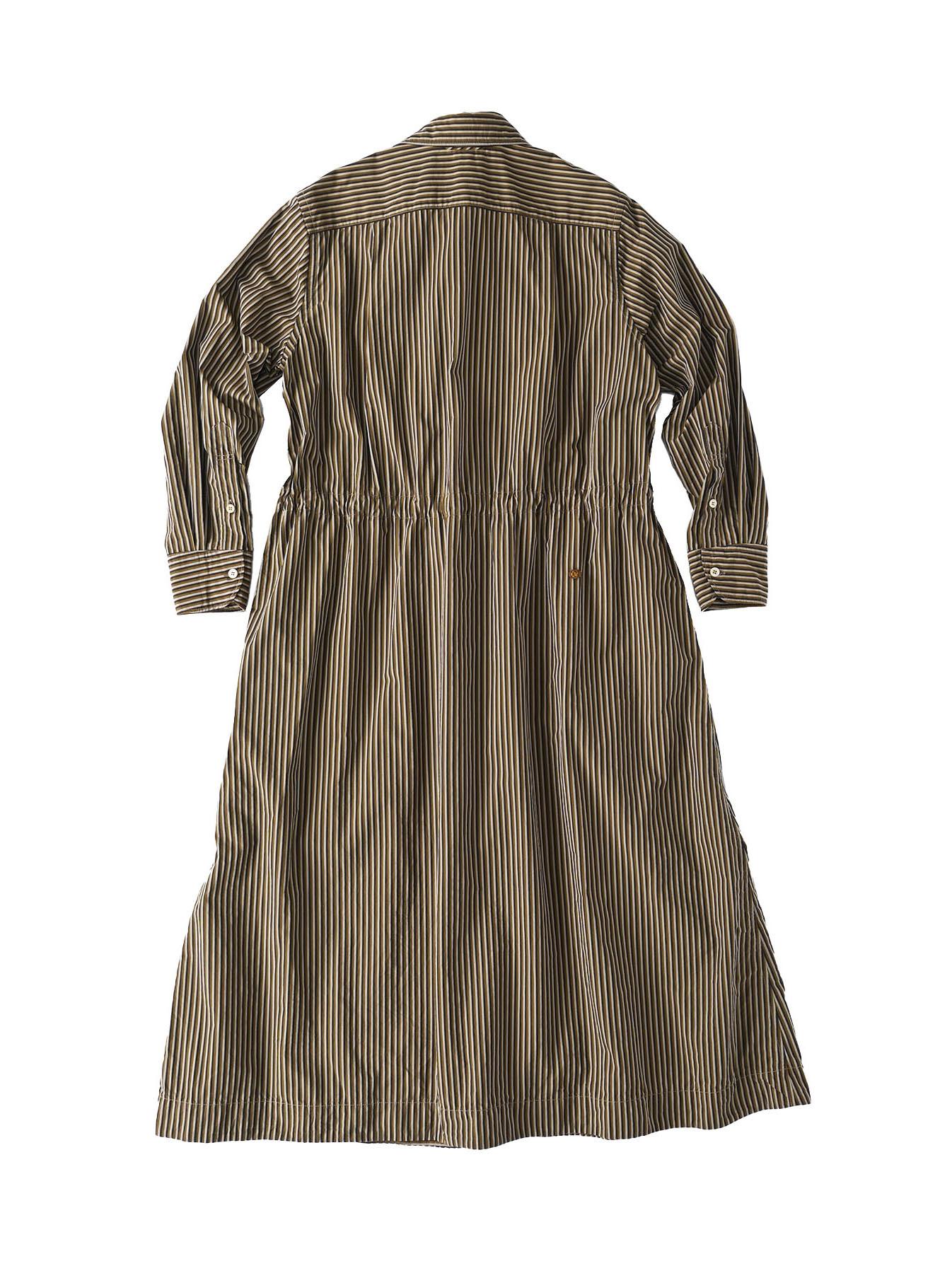 Dump Autumn-coloured Shirt Dress-9