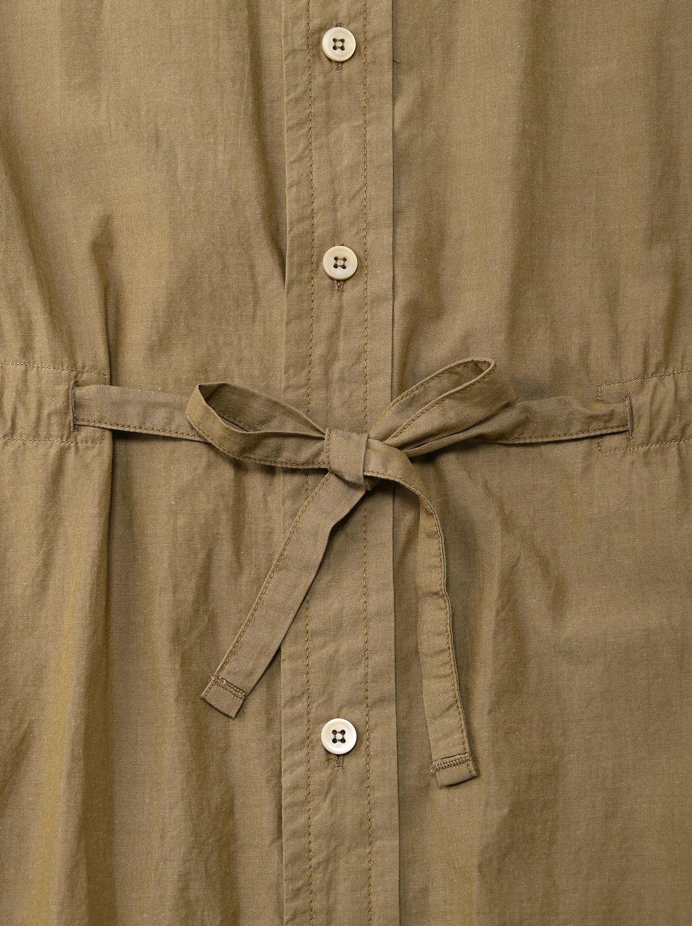 Dump Autumn-coloured Shirt Dress-7