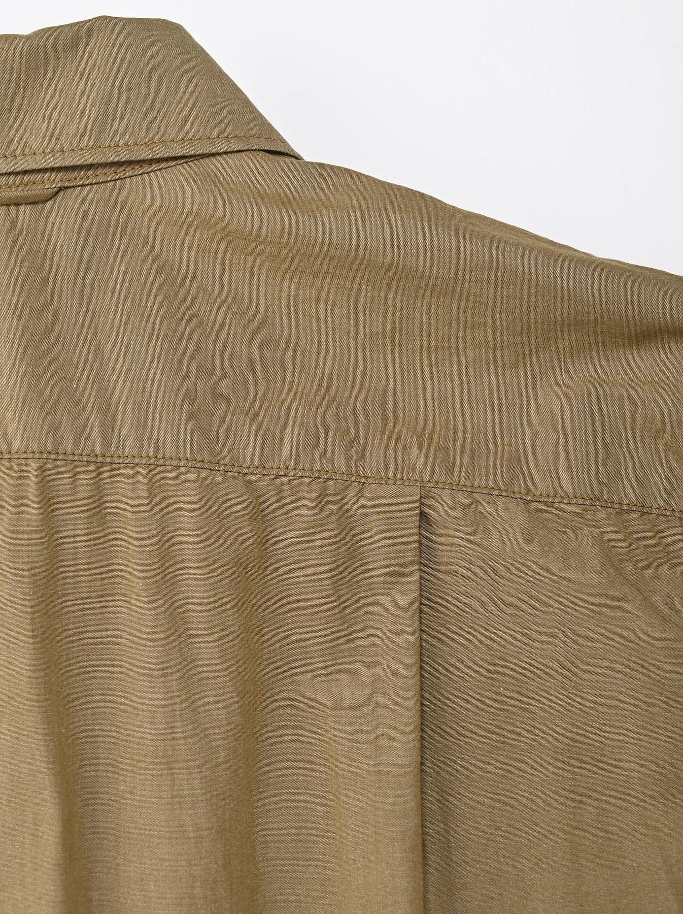 Dump Autumn-coloured Shirt Dress-10