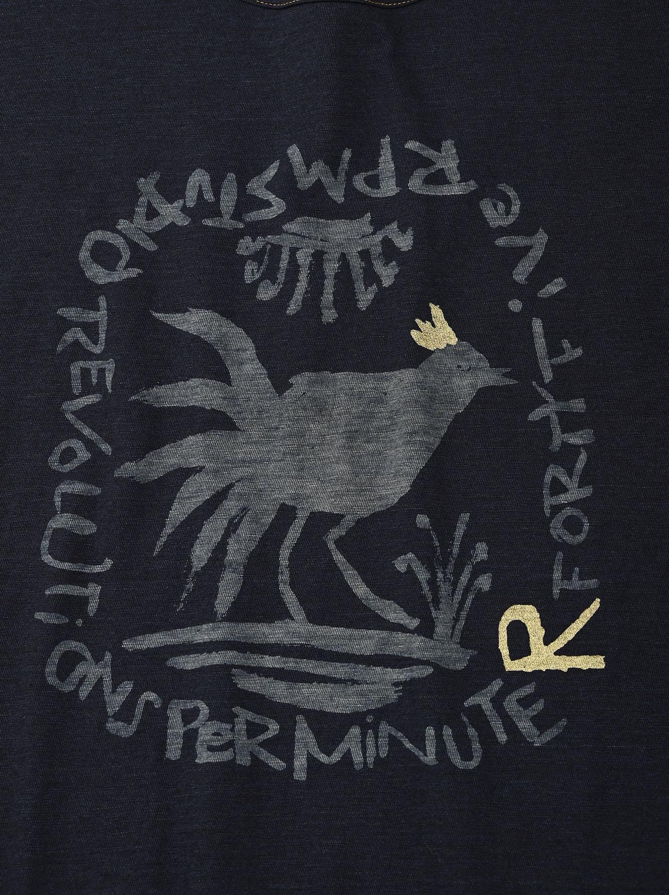 Indigo Sumite de Chicken T-shirt-6