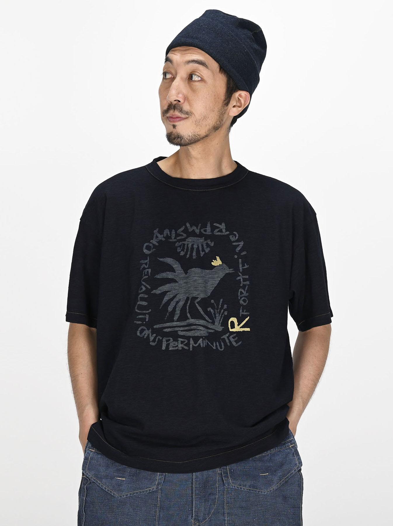 Indigo Sumite de Chicken T-shirt-2