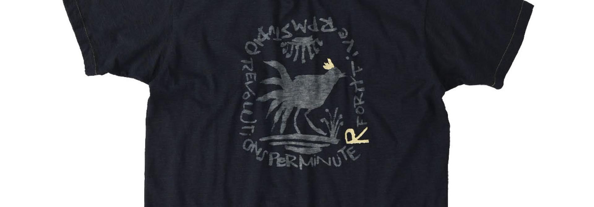 Indigo Sumite de Chicken T-shirt