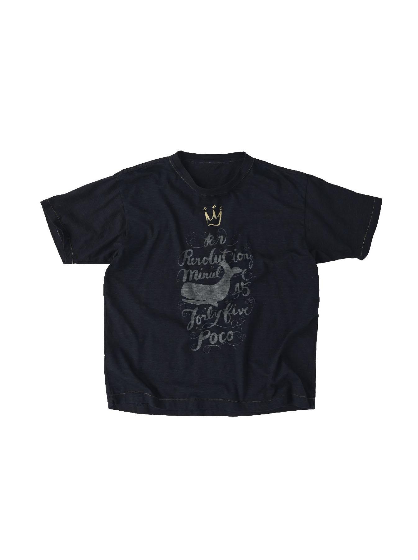 Indigo Sumite de Whale T-shirt-1