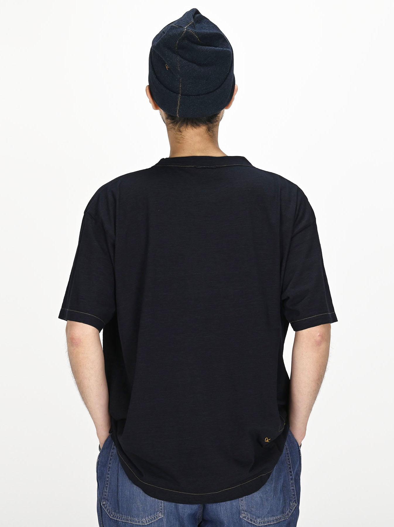 Indigo Sumite de Whale T-shirt-4