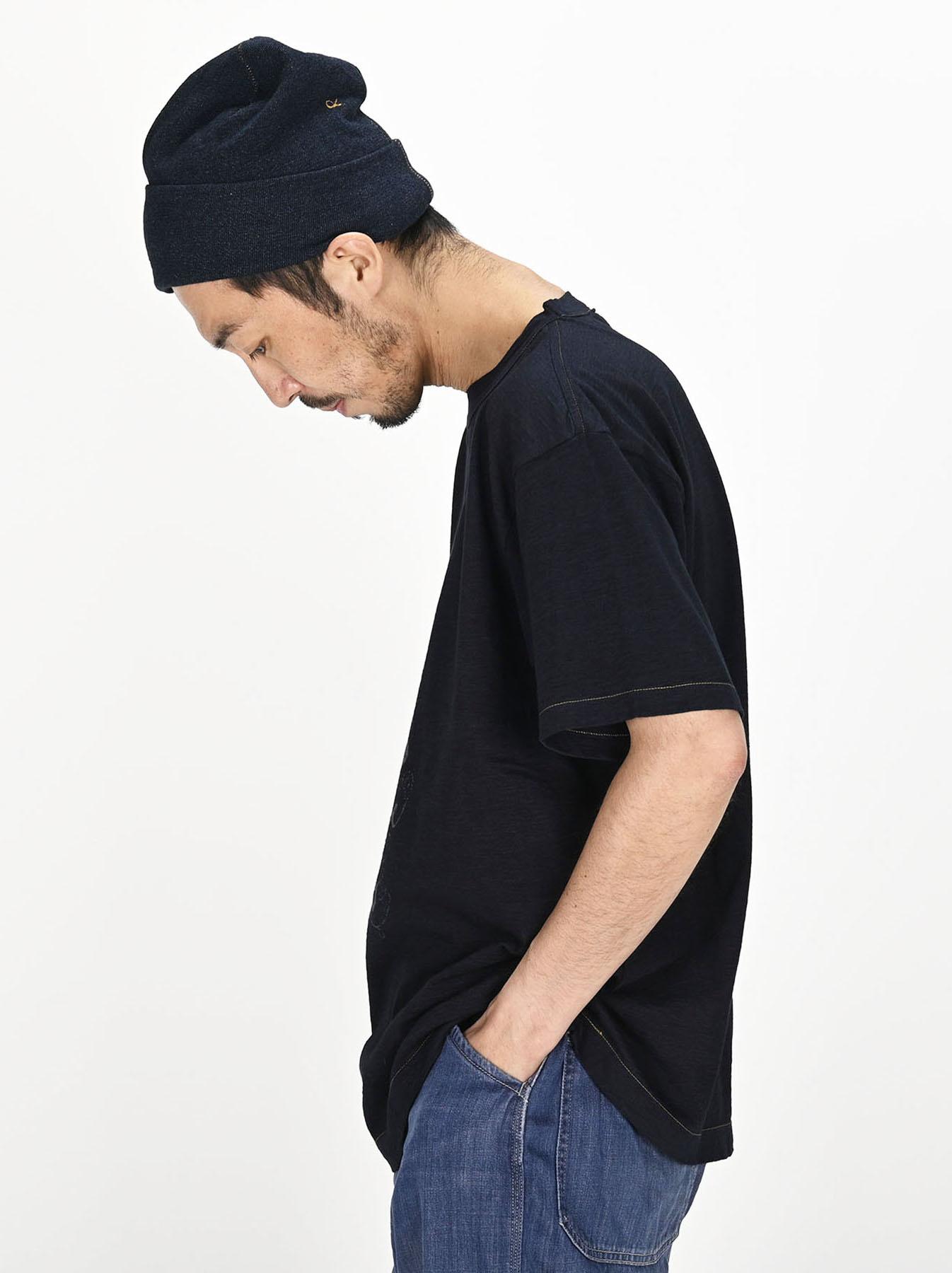 Indigo Sumite de Whale T-shirt-3