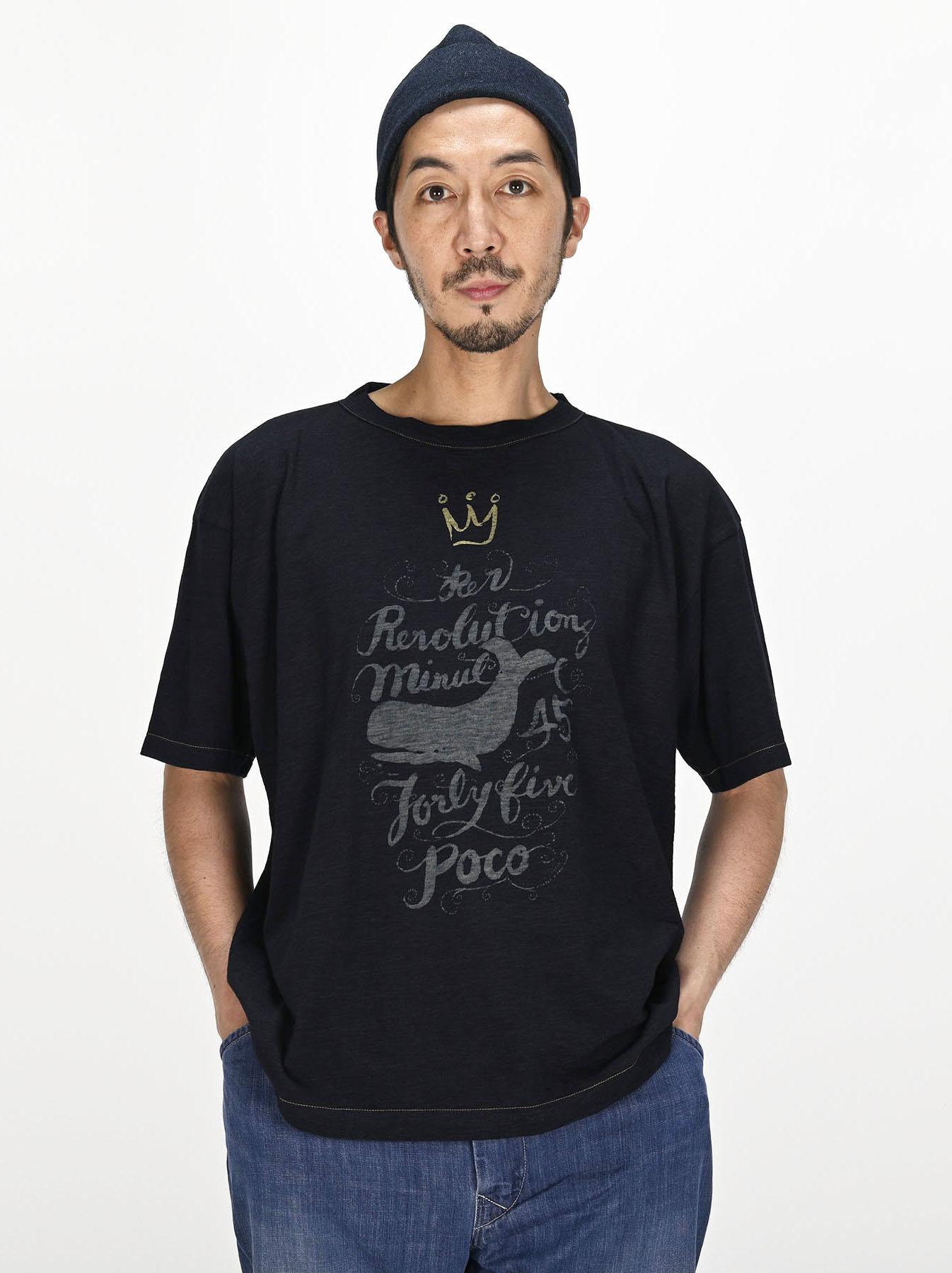 Indigo Sumite de Whale T-shirt-2