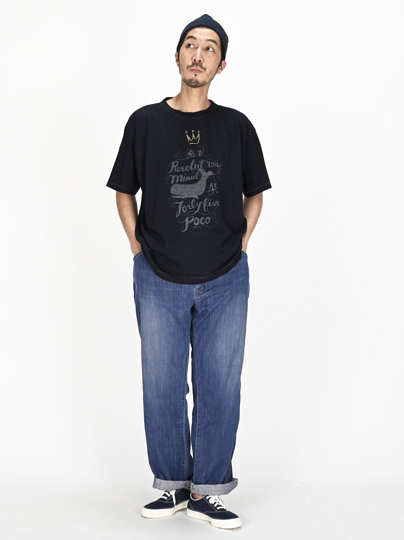 Indigo Sumite de Whale T-shirt-5