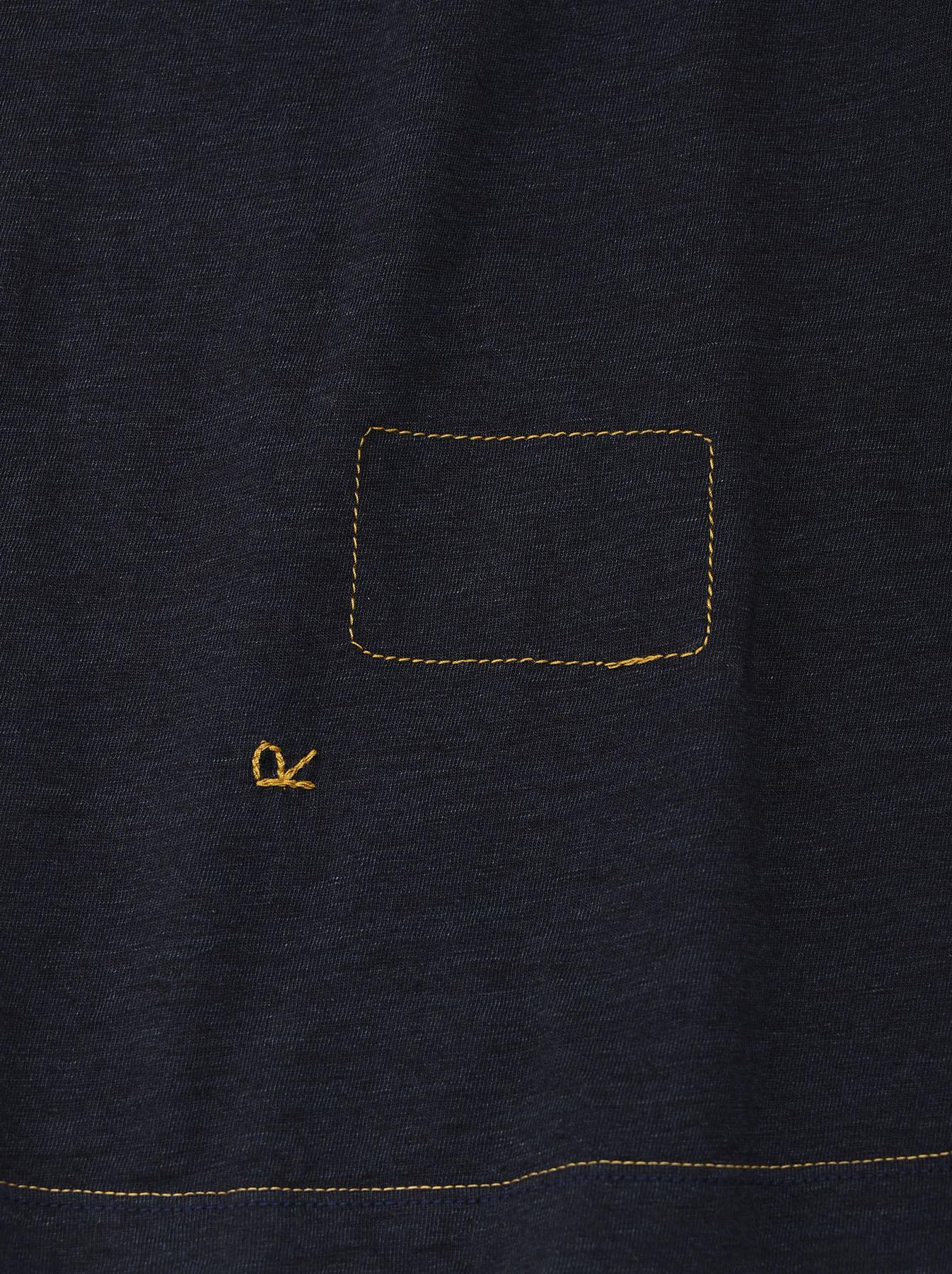Indigo Sumite de Owl T-shirt-10