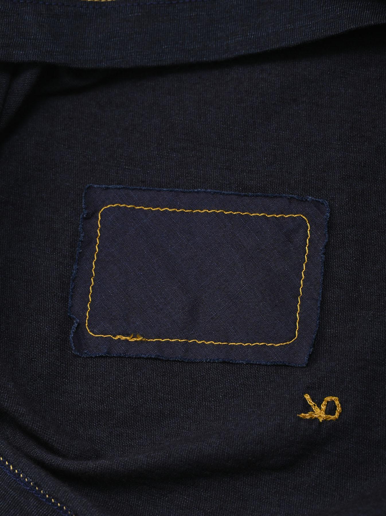 Indigo Sumite de Owl T-shirt-11