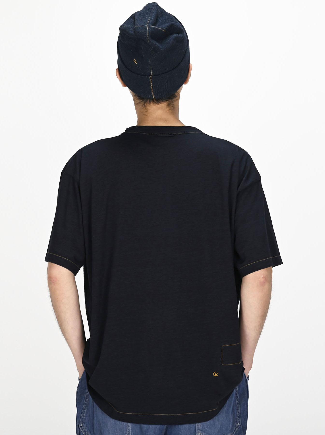 Indigo Sumite de Owl T-shirt-4