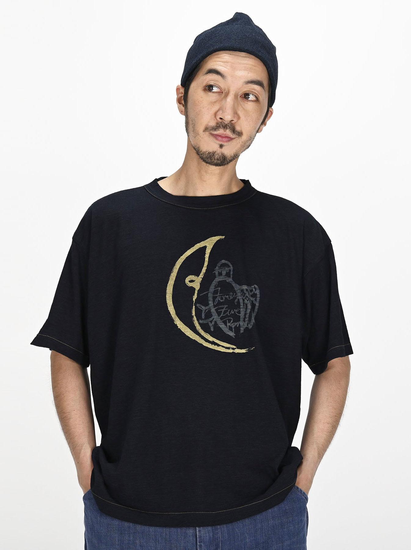Indigo Sumite de Owl T-shirt-2
