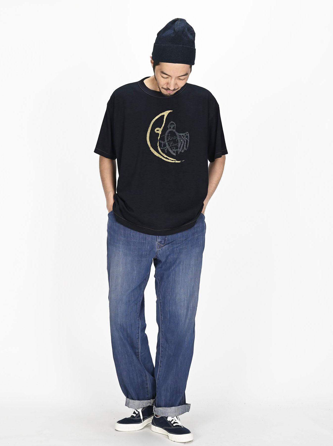 Indigo Sumite de Owl T-shirt-5