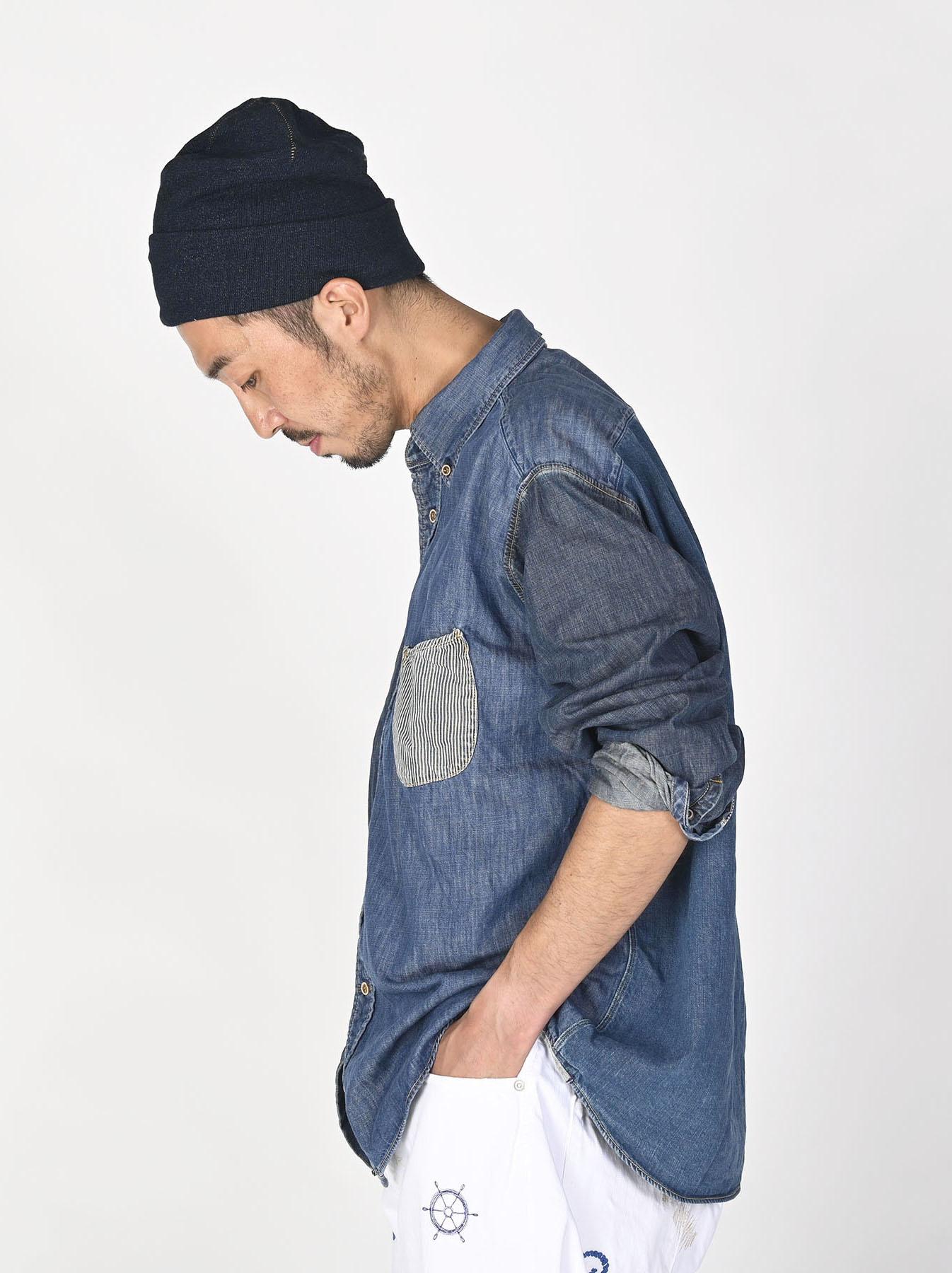 Indigo Zennin Shūgou Ocean T-shirt-3