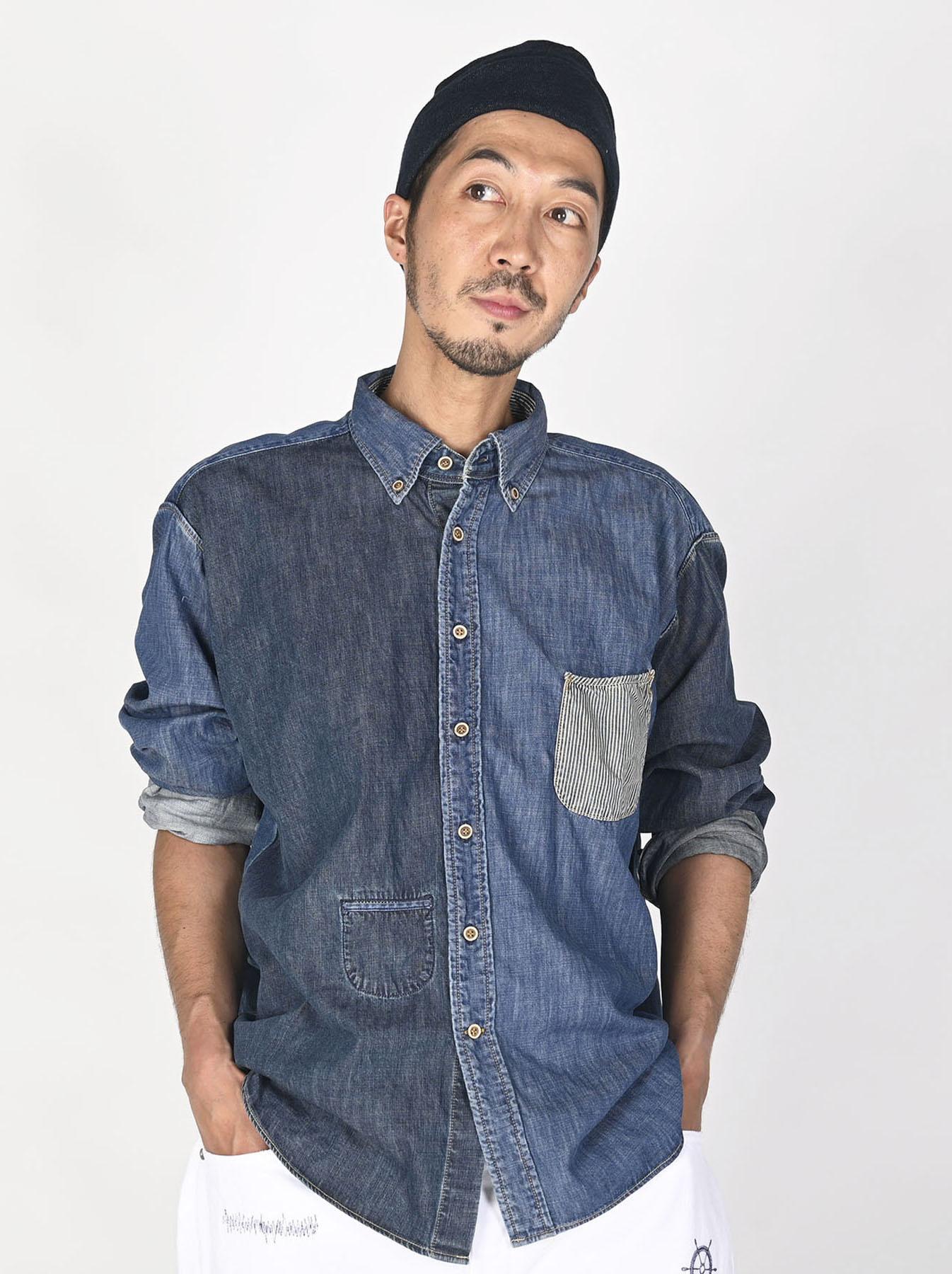 Indigo Zennin Shūgou Ocean T-shirt-2
