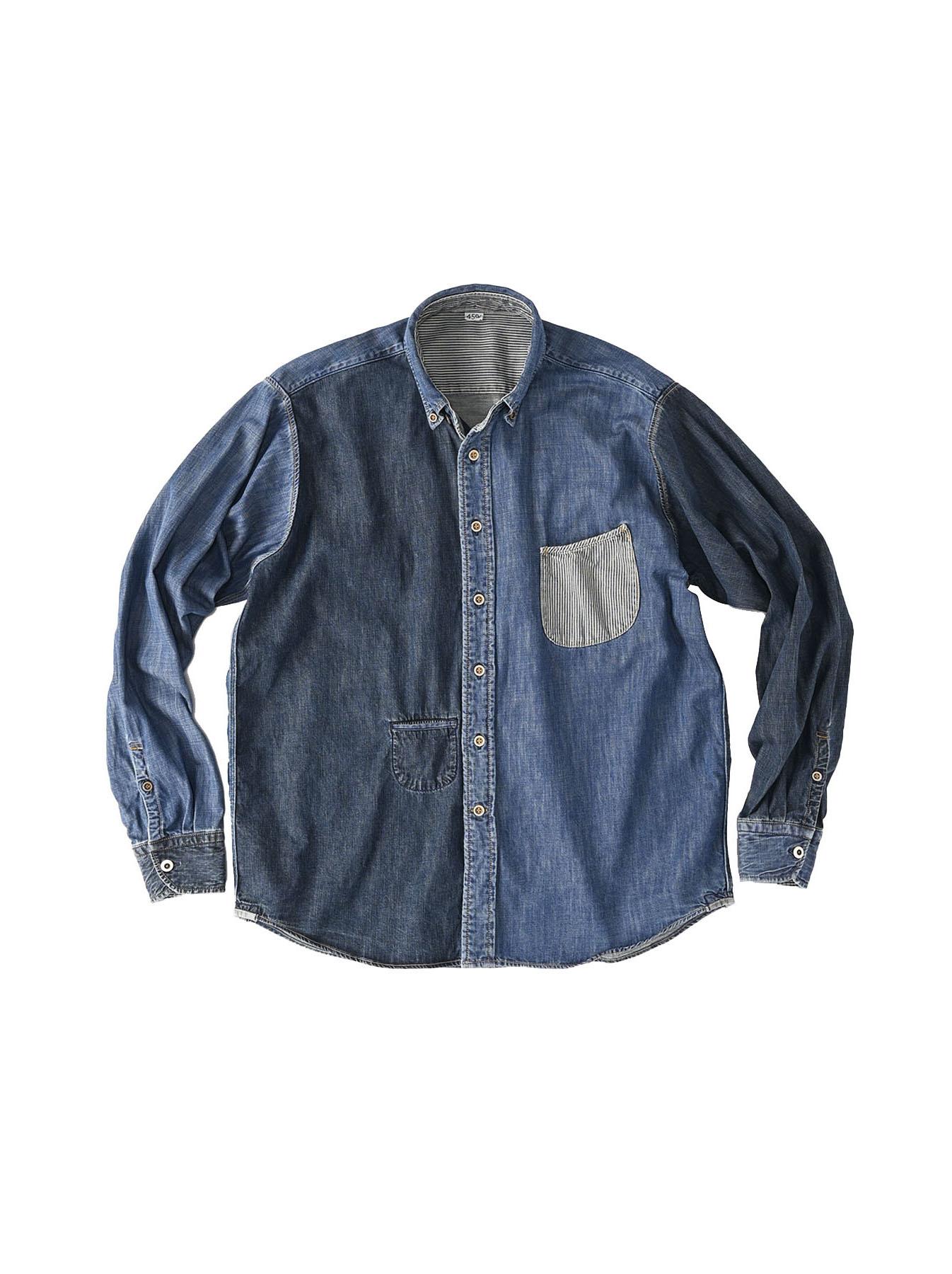 Indigo Zennin Shūgou Ocean T-shirt-1