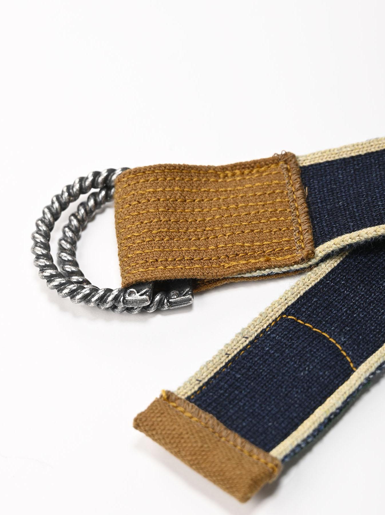 Selvage Knit Belt-5