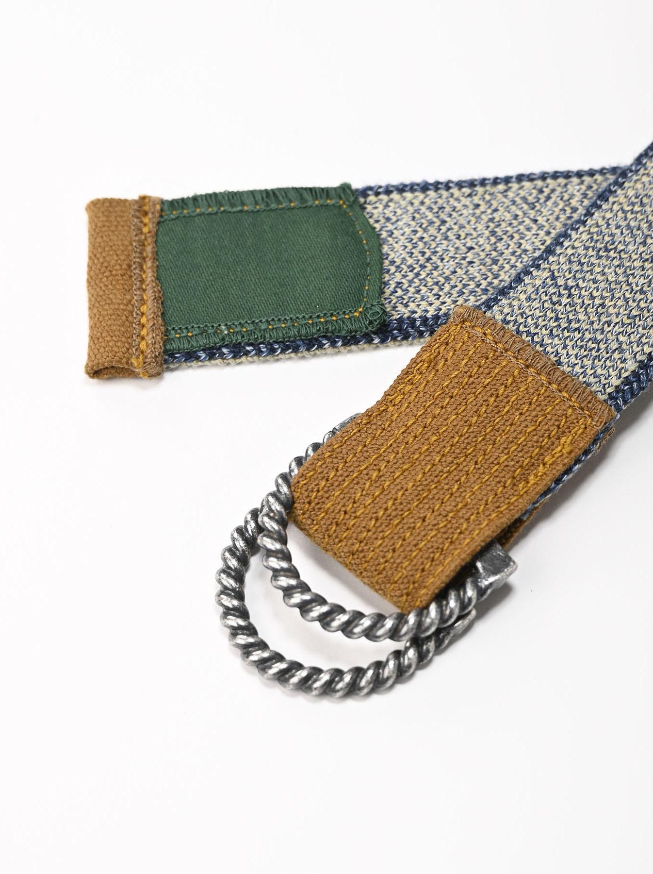 Selvage Knit Belt-6