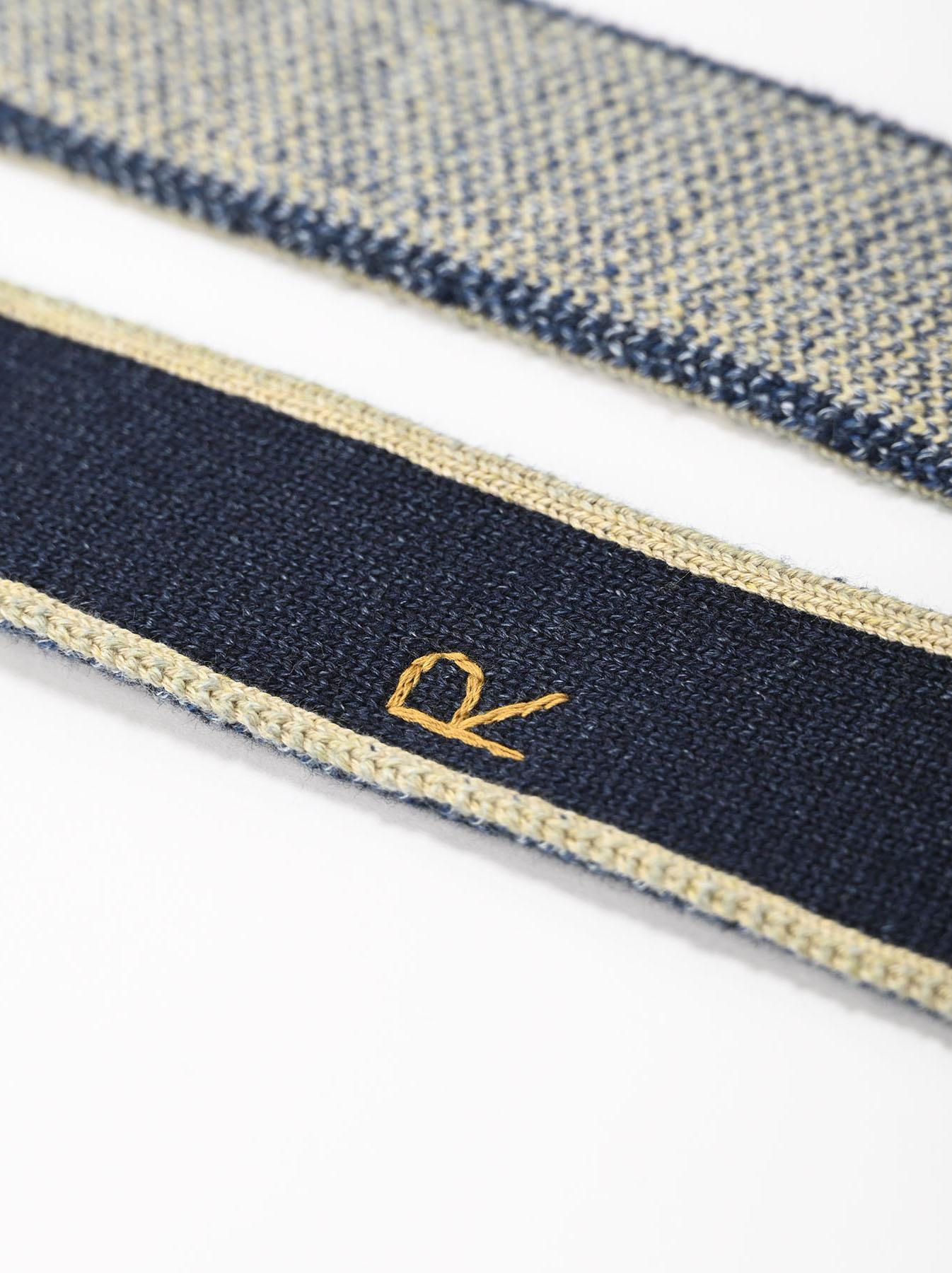 Selvage Knit Belt-7