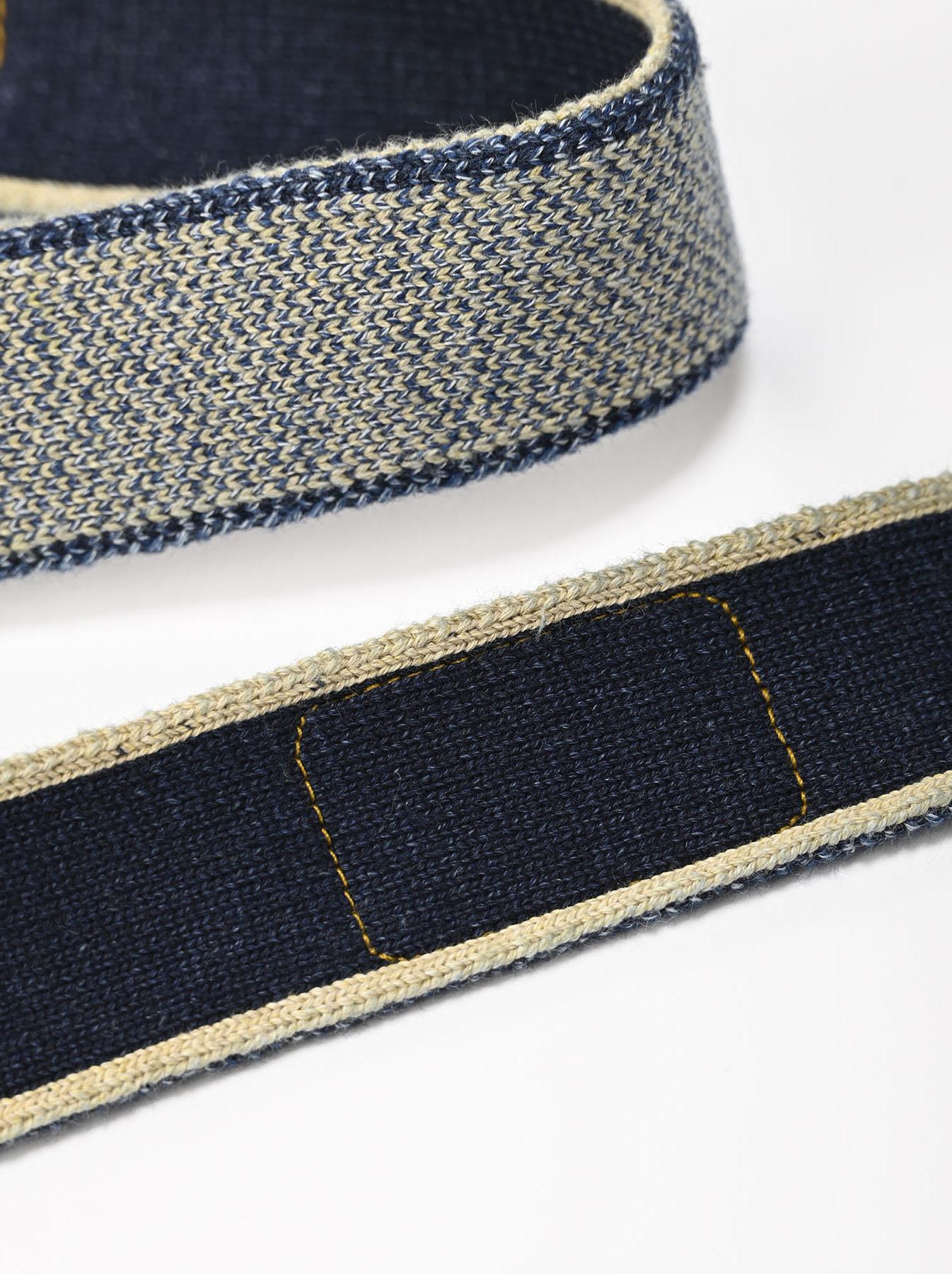 Selvage Knit Belt-8