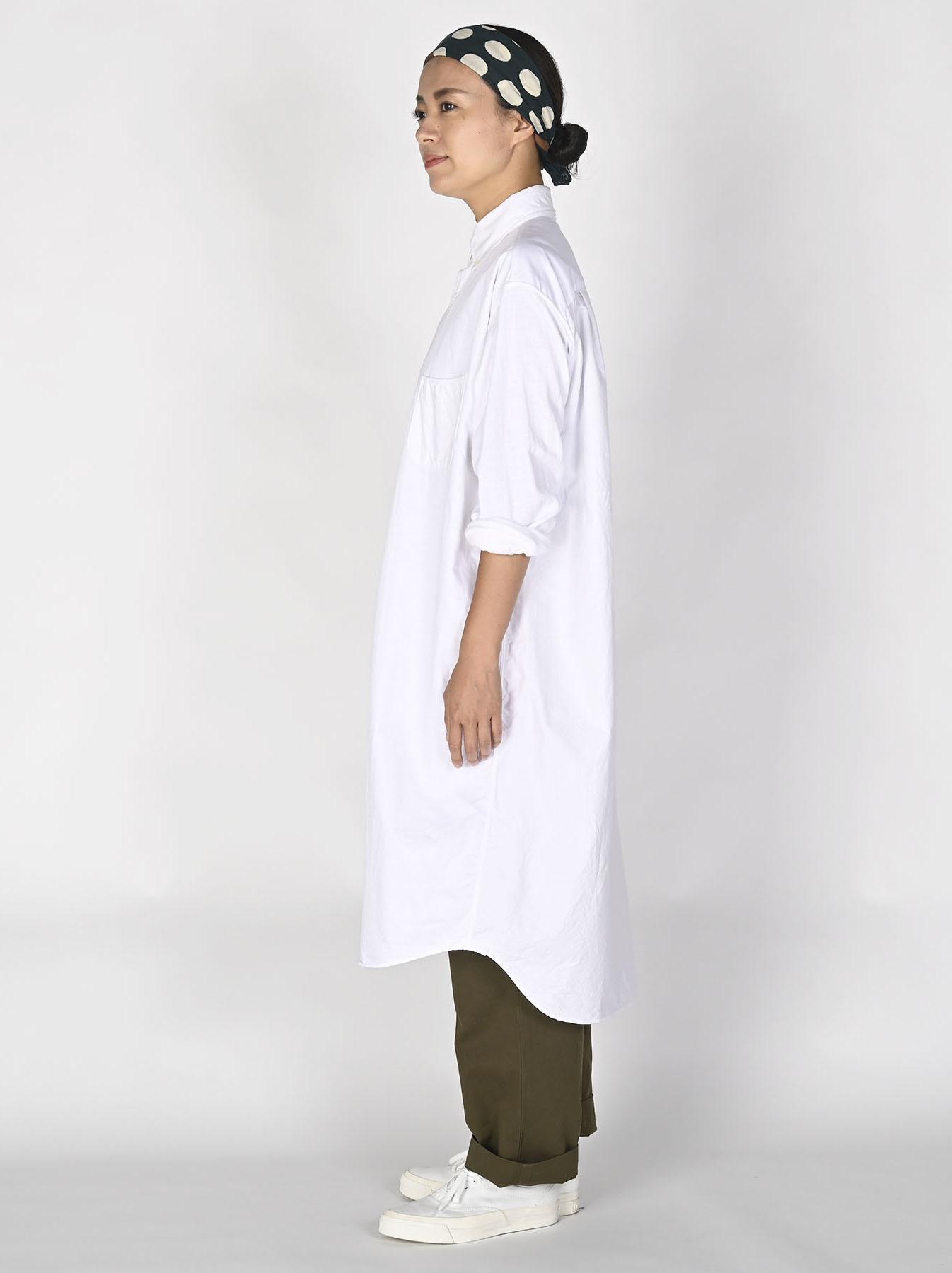 White Zenin Shugo Smock Dress-3